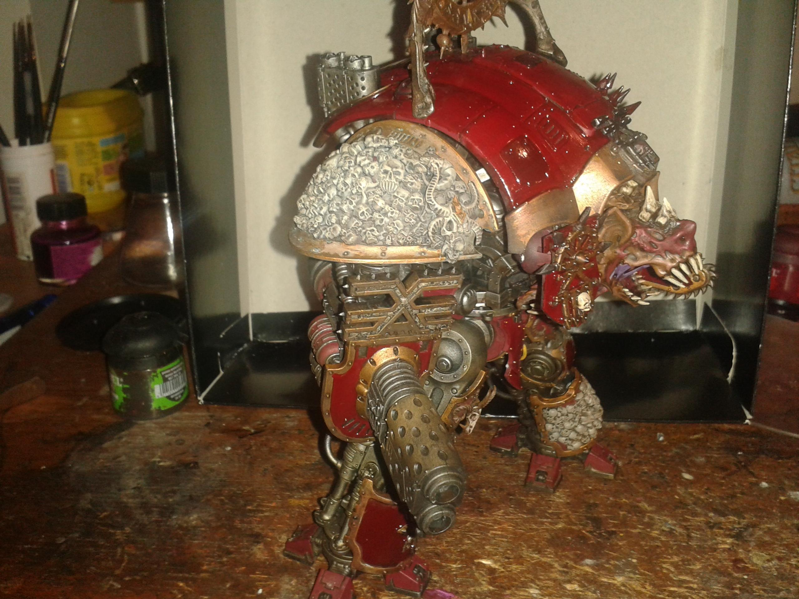 Khorn, Knights, Skull