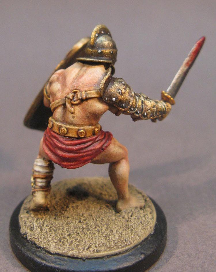 Arena Rex, Armor, Gladiator, Gold, Shield, Urbicus