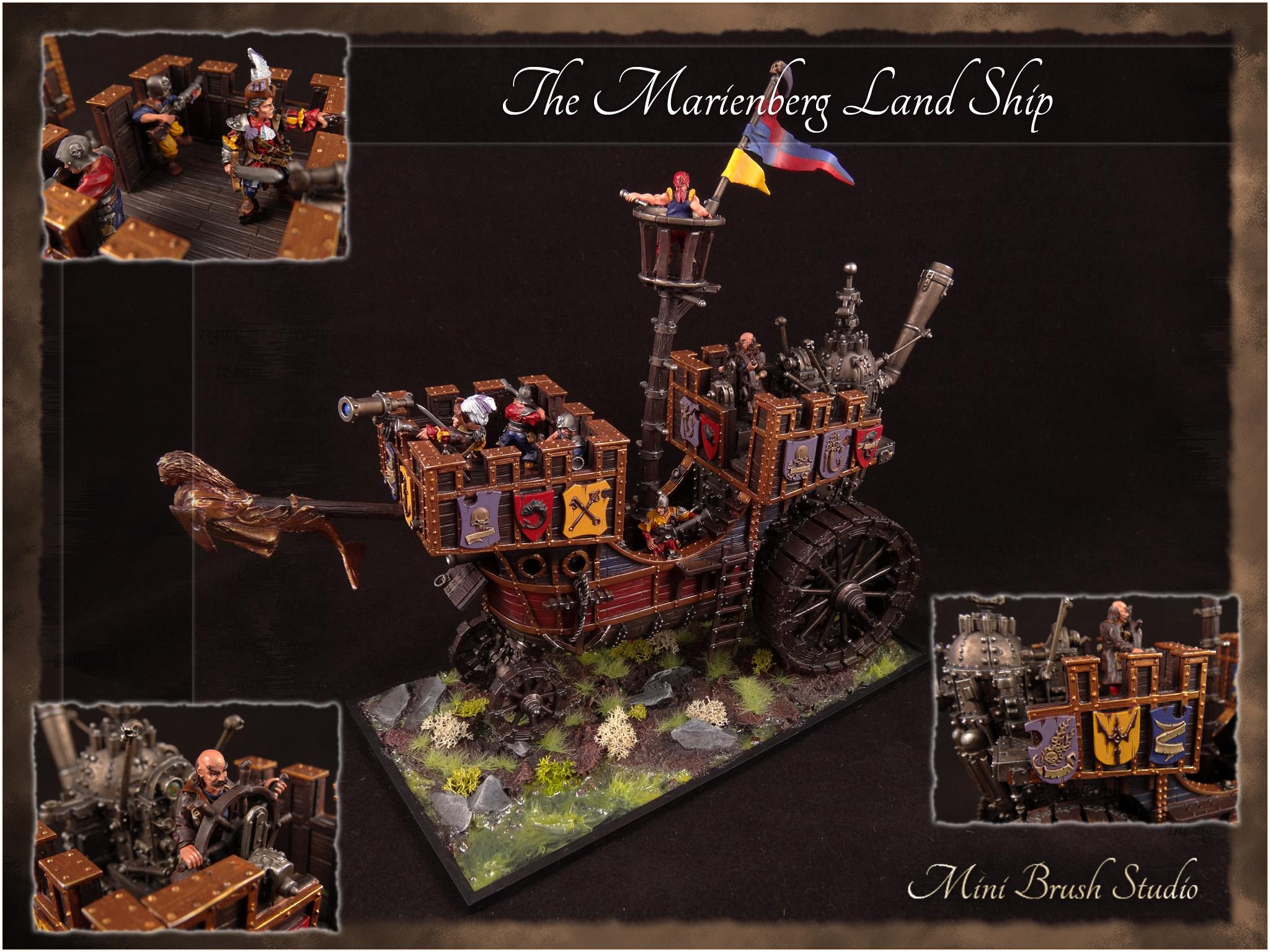 Empire, Forge World, Land Ship, Marienberg, Warhammer Fantasy
