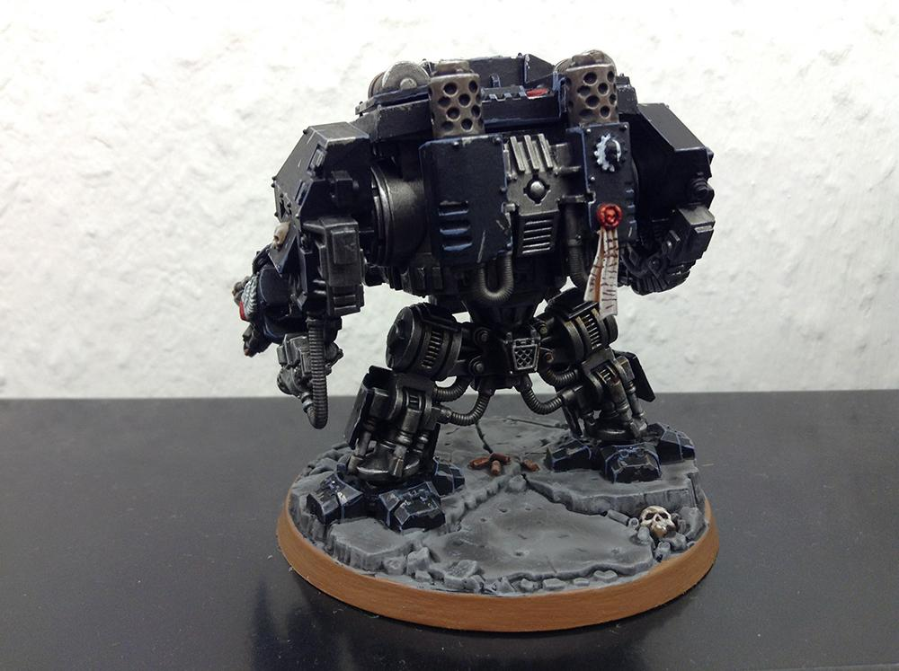 Death Company, Dreadnought, Space Marines, Work In Progress
