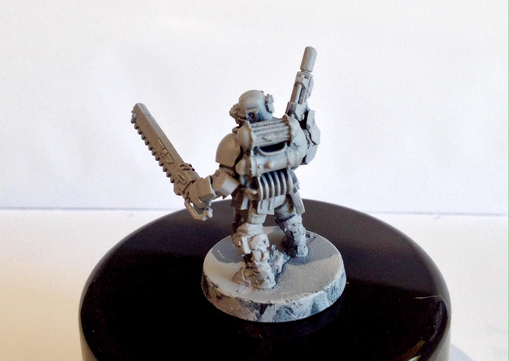 Astra Militarum, Back, Carapace, Conversion, Detail, Imperial Guard, Infantry, Warhammer 40,000