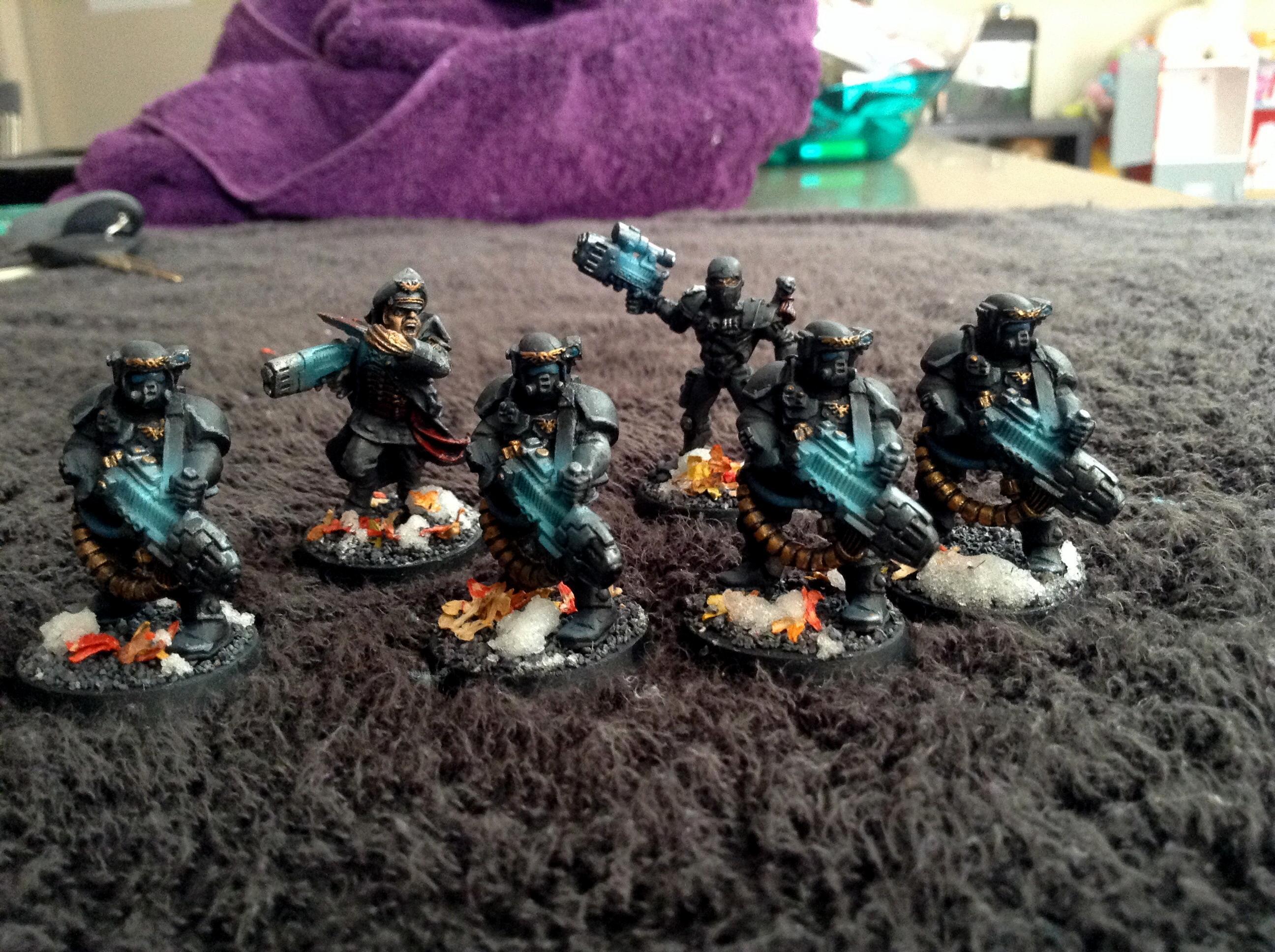 Astra Militarum, Comissar, Imperial Assassin, Imperial Guard, Kasrkin, Scions