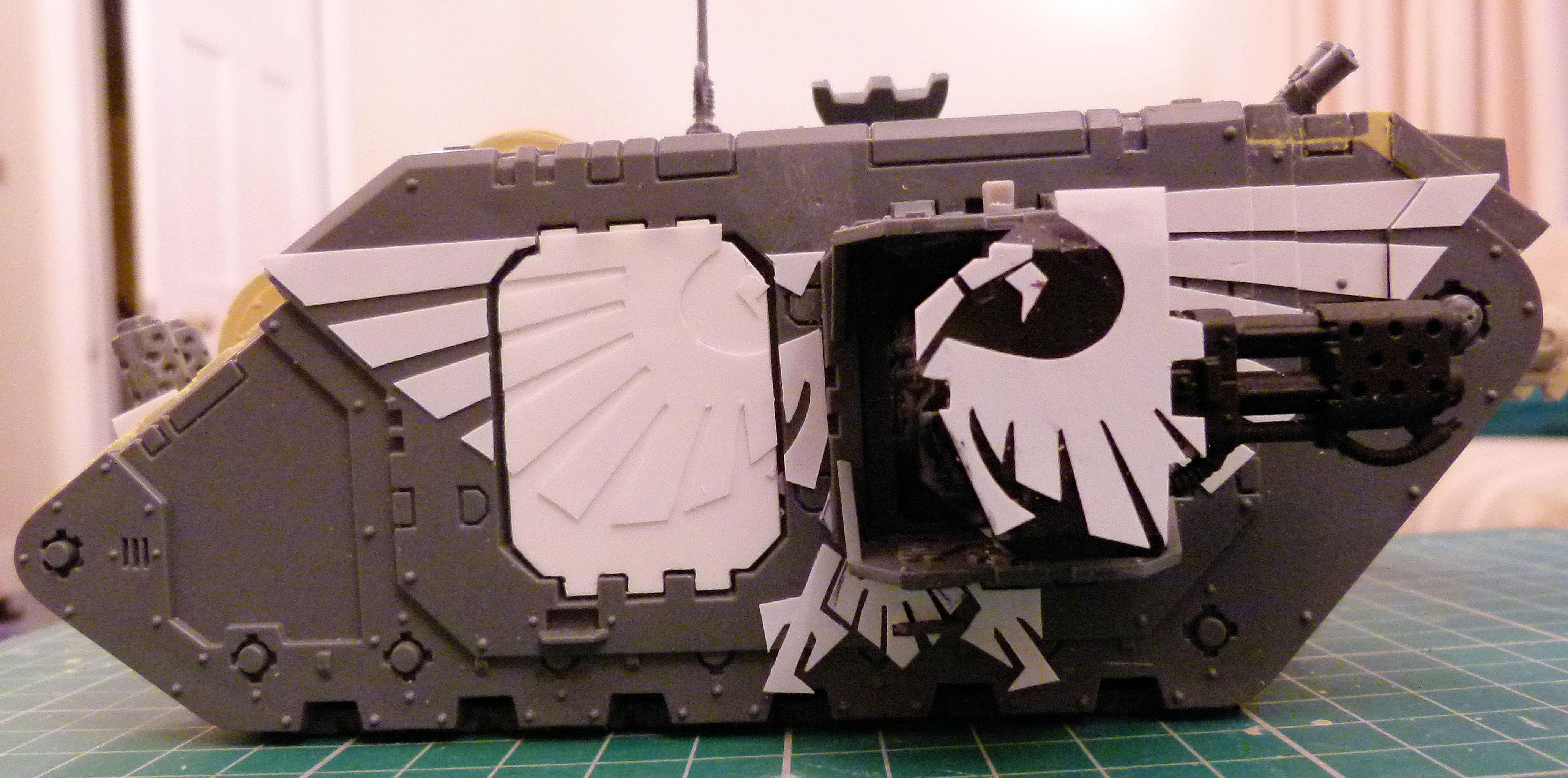 99% Completed WIP Land Raider Infernus Right