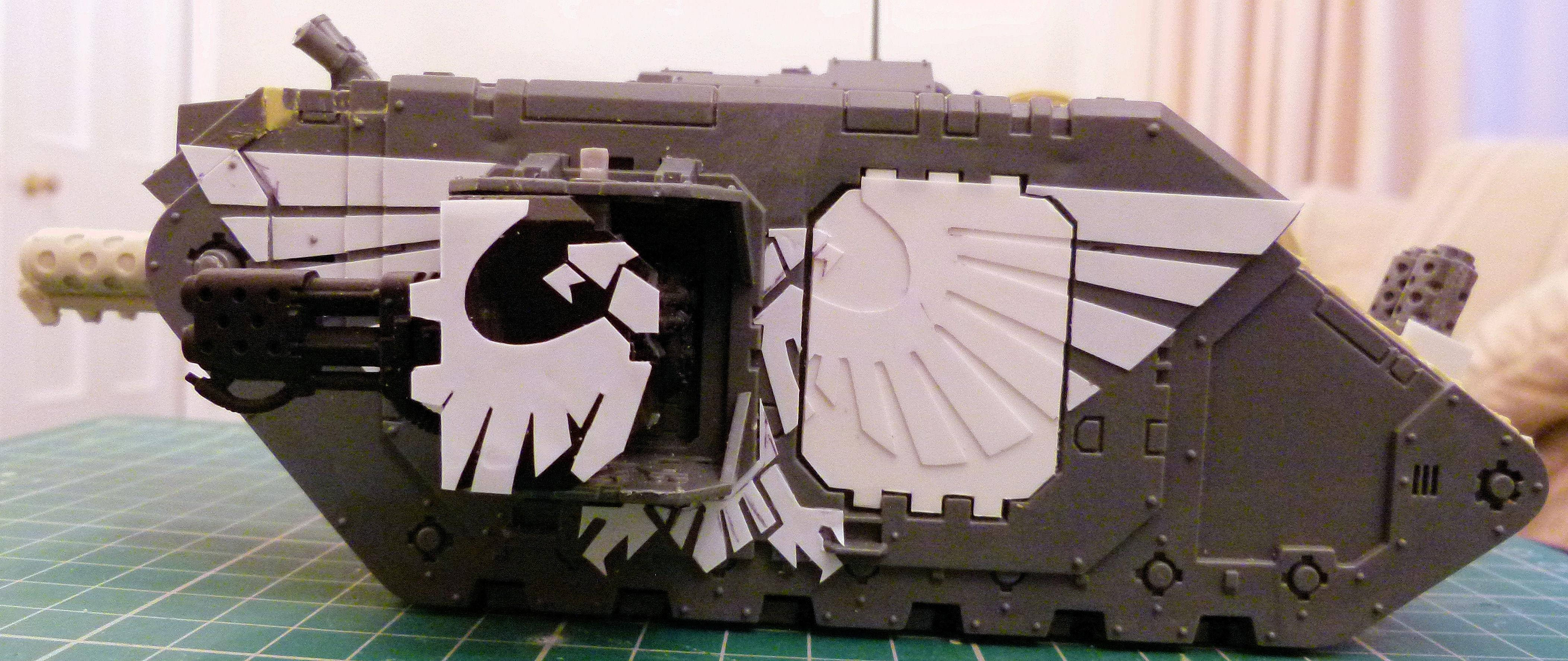99% Completed WIP Land Raider Infernus Left Side