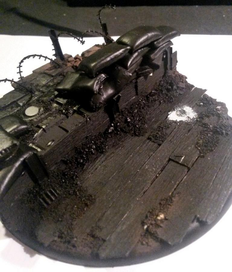 Stormwall Nr2 Wip, Trench Basing