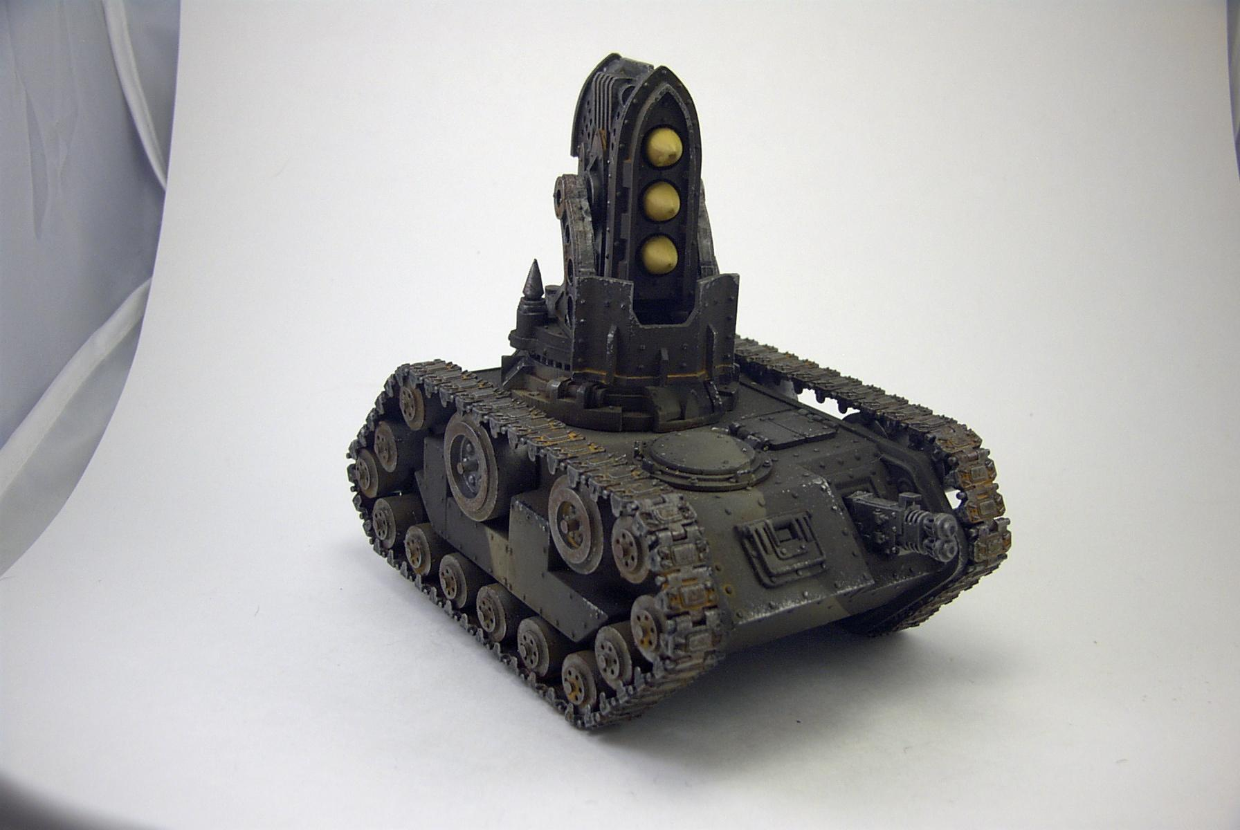 Conversion, Gothic, Imperial Guard, Manticore, Missile Launcher, Tank