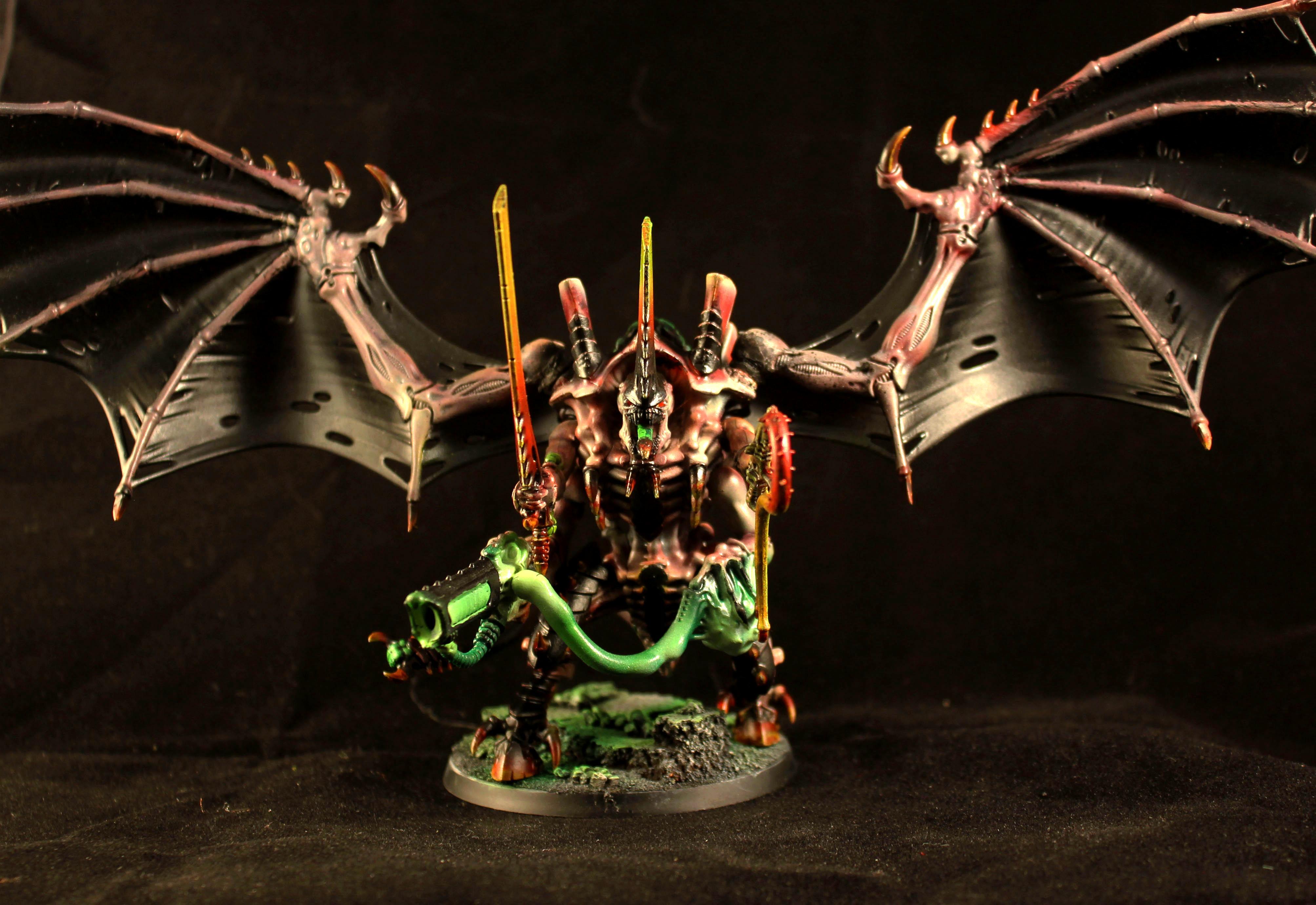 Flyrant, Games Workshop, Hive Tyrant, Tyranids, Warhammer 40,000, Warhammer Fantasy