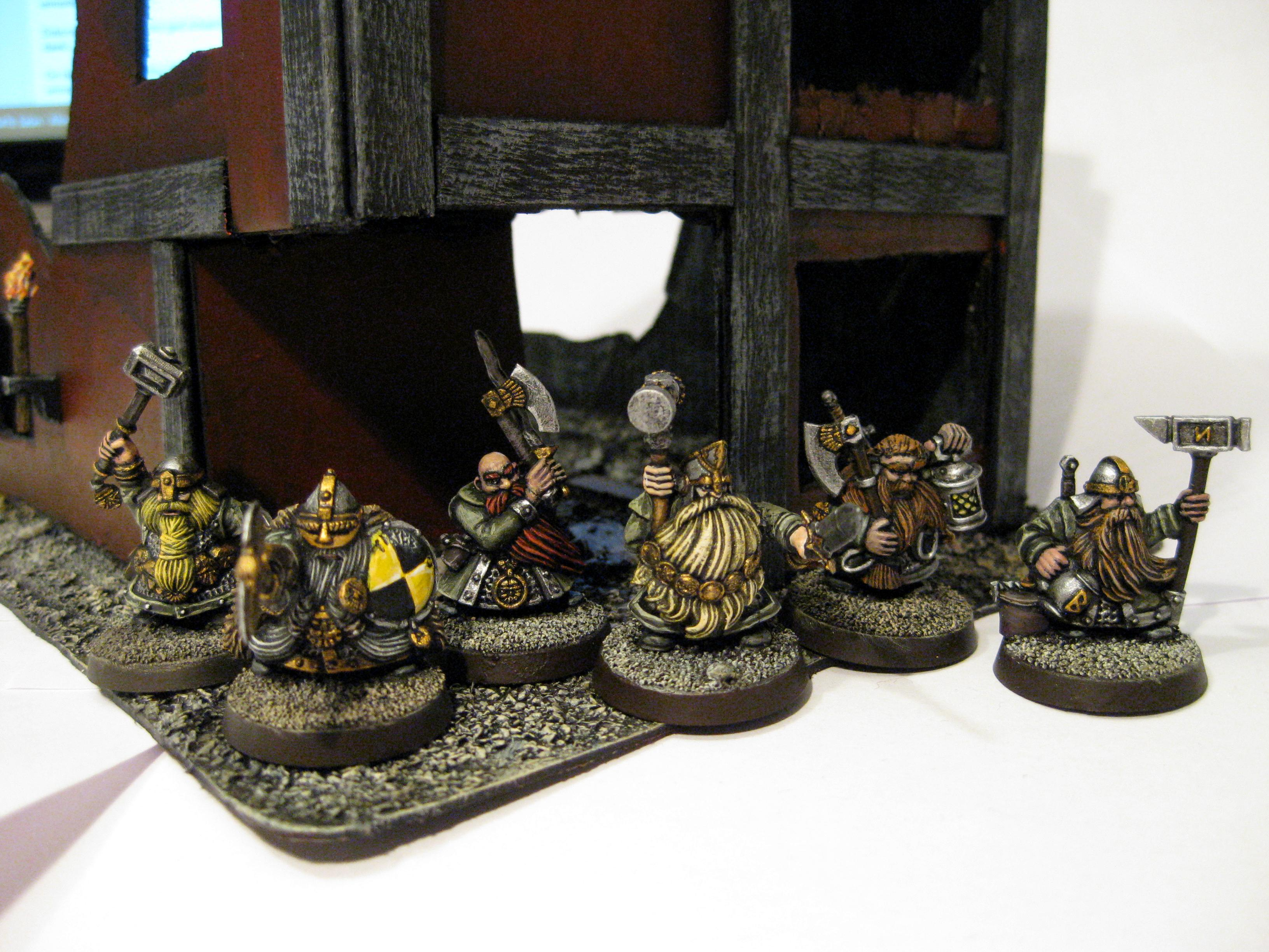 Dwarf Treasure Hunters, Dwarves, Hunters, Mordheim, Treasure