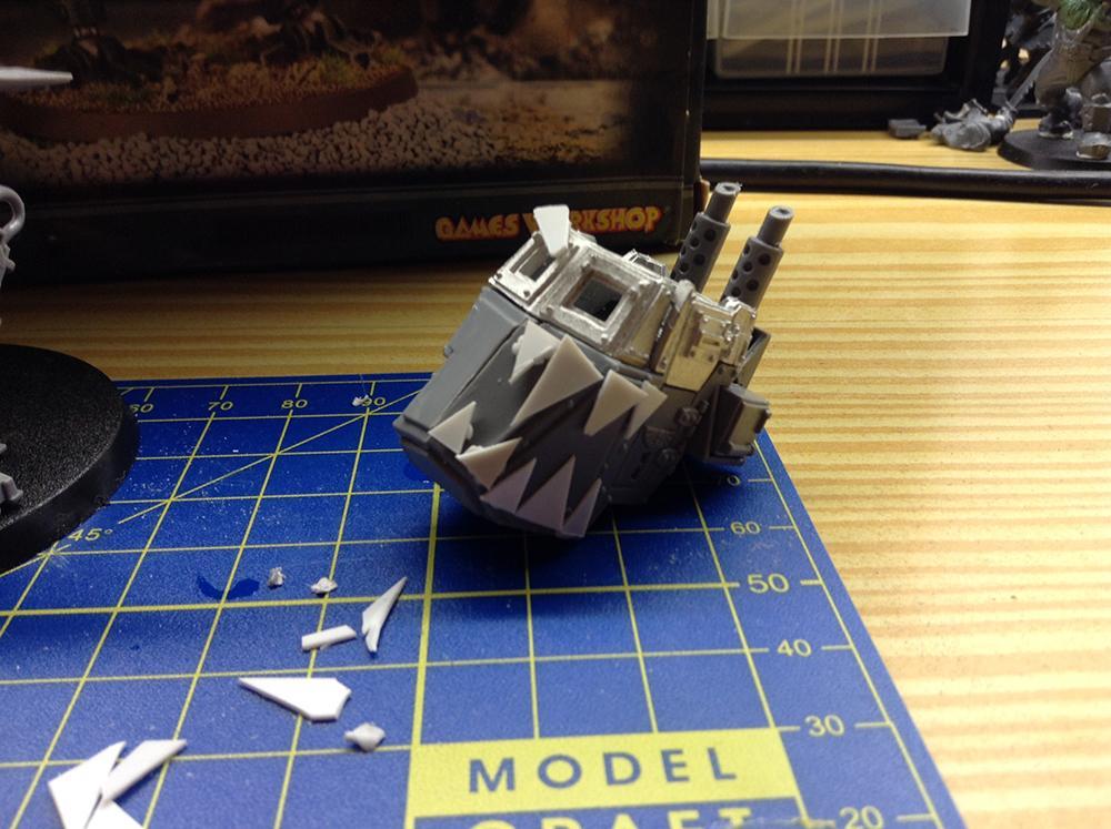 Killa Kan, Orks, Sentinel, Work In Progress