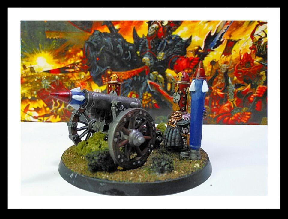 Cannon, Chaos Dwarf, Warhammer Fantasy