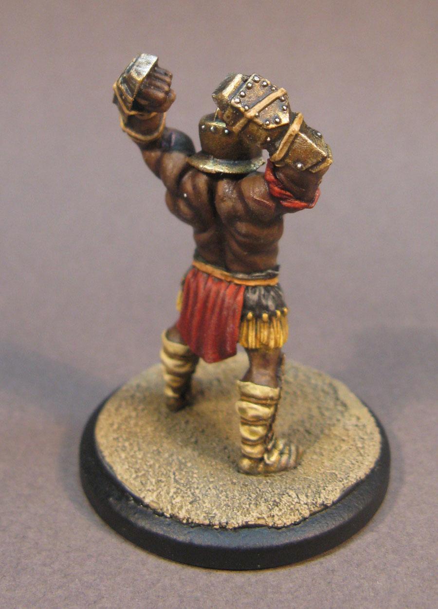 Arena Rex, Armor, Gladiator, Gold, Micon
