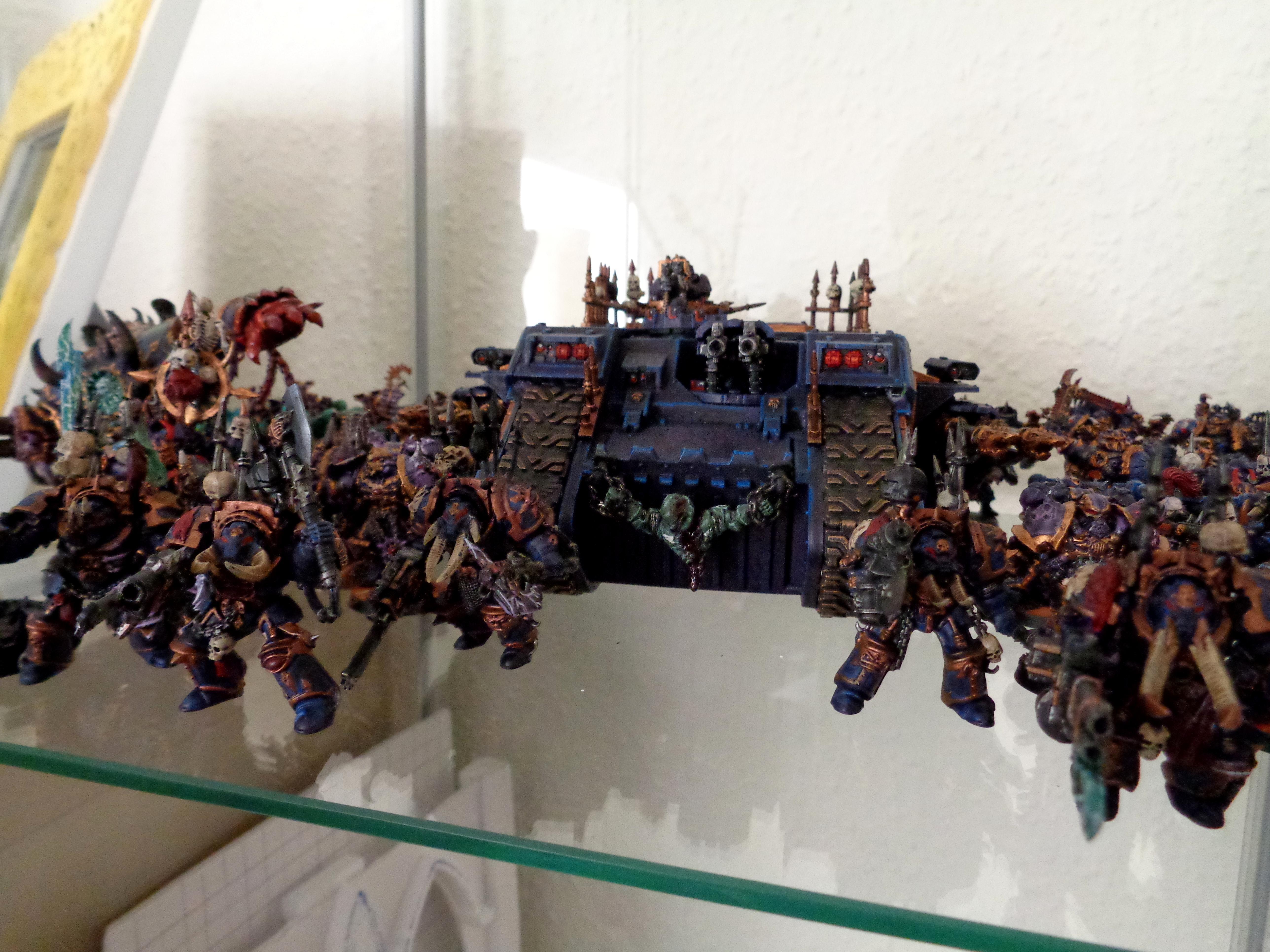 Chaos Space Marines, Land Raider, Night Lords, Source Lighting, Terminator Armor, Warhammer 40,000, Work In Progress