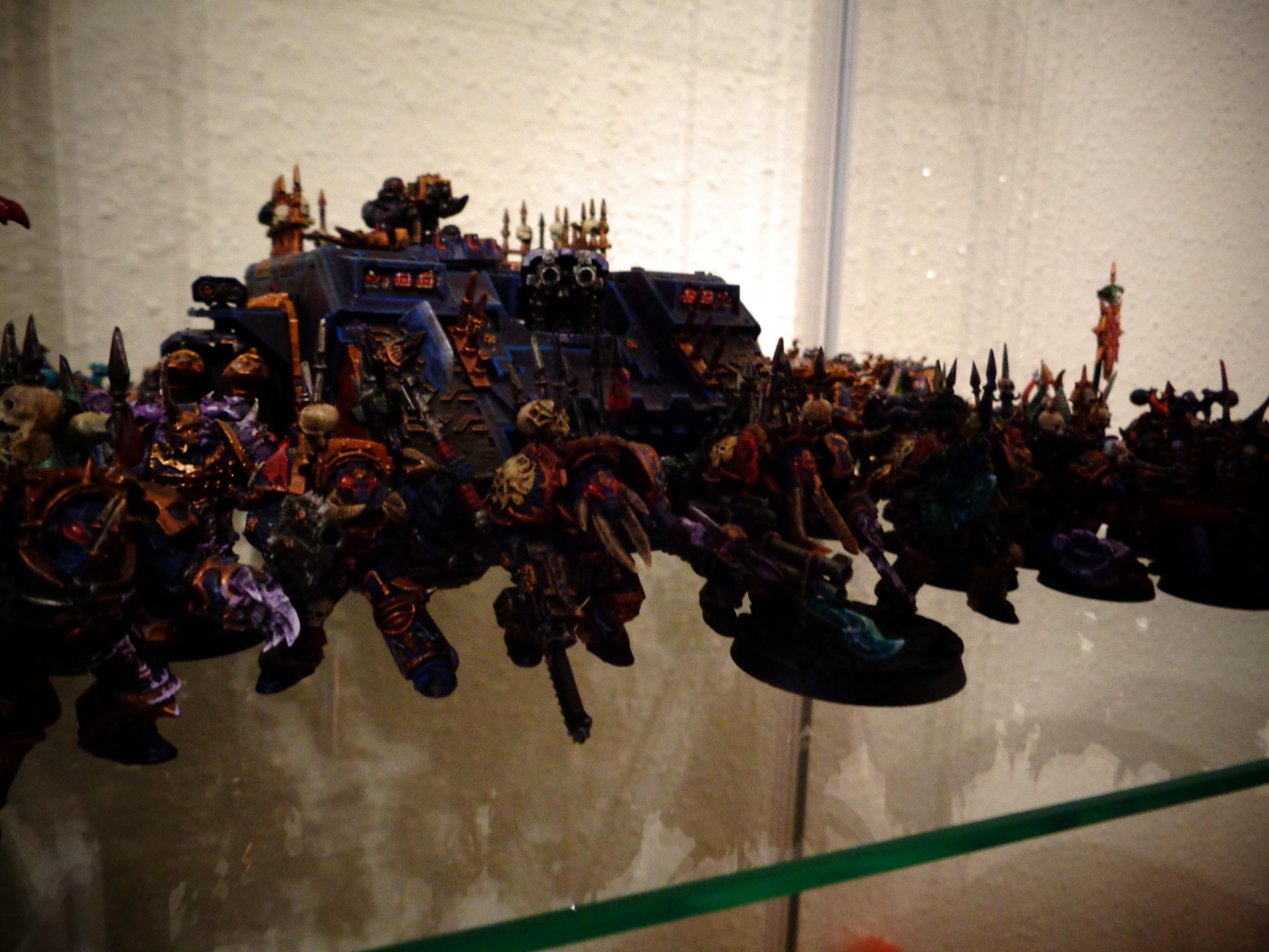 Chaos Space Marines, Land Raider, Night Lords, Source Lighting, Terminator Armor, Warhammer 40,000, Work In Progress
