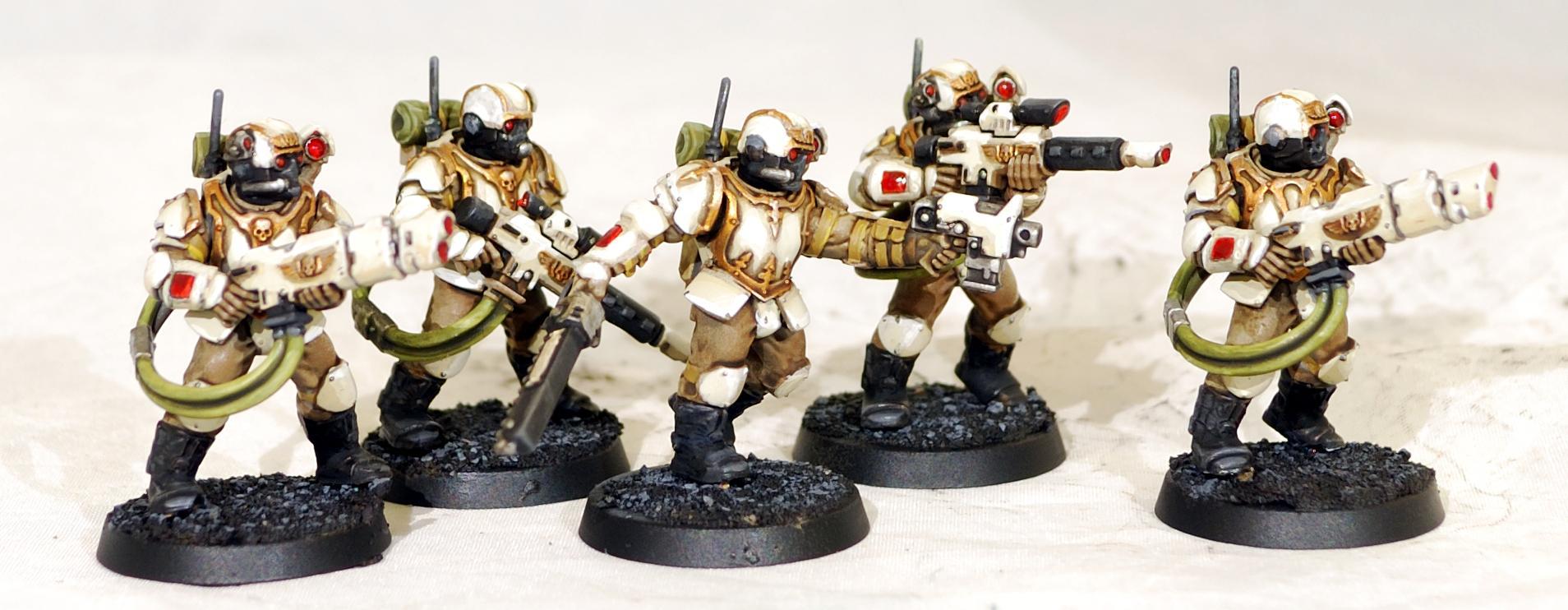 Astra Militarum, Imperial Guard, Militarum Tempestus, Scion, Strom Troopers