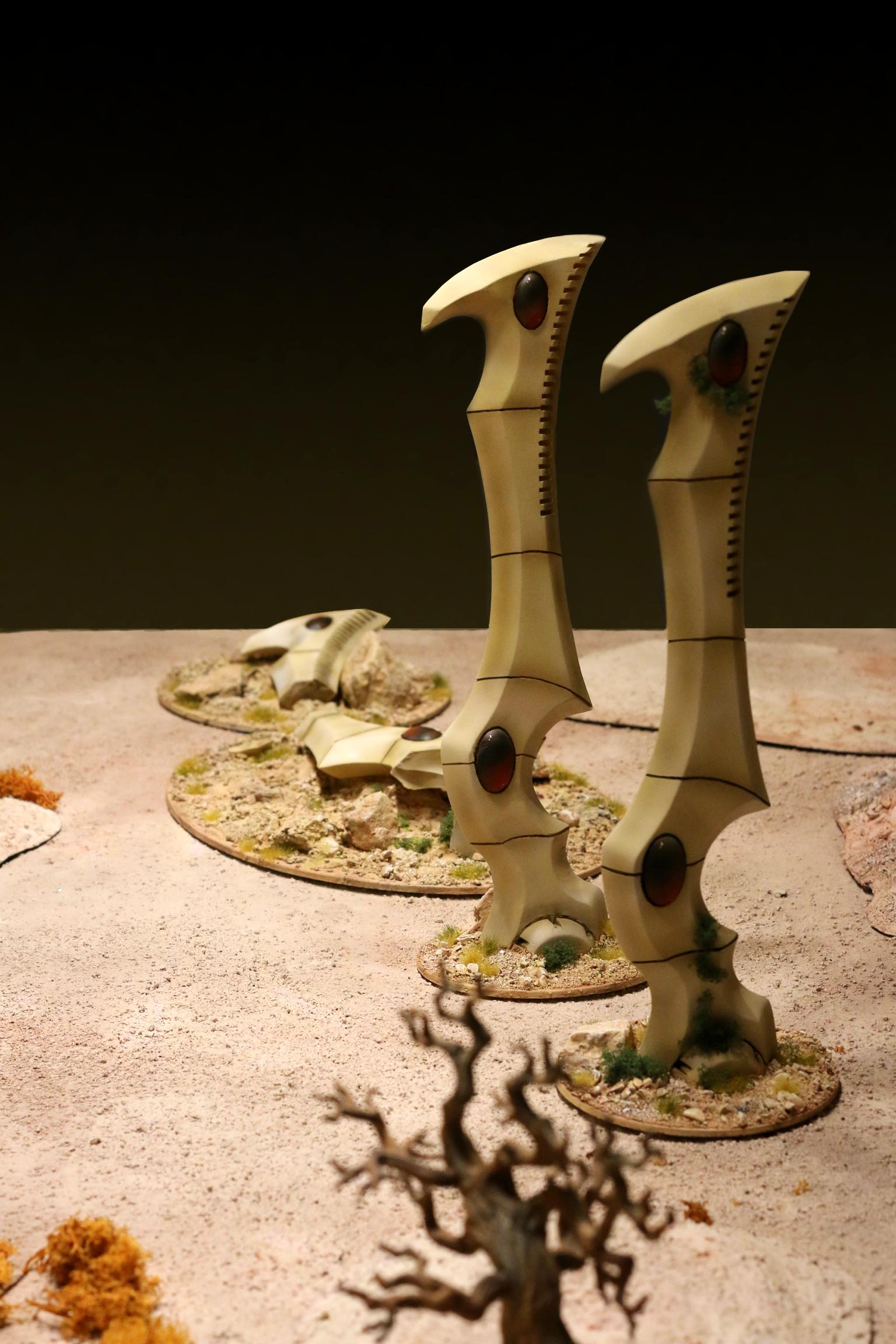 Eldar, Scifi, Space Elves, Terrain, Tower