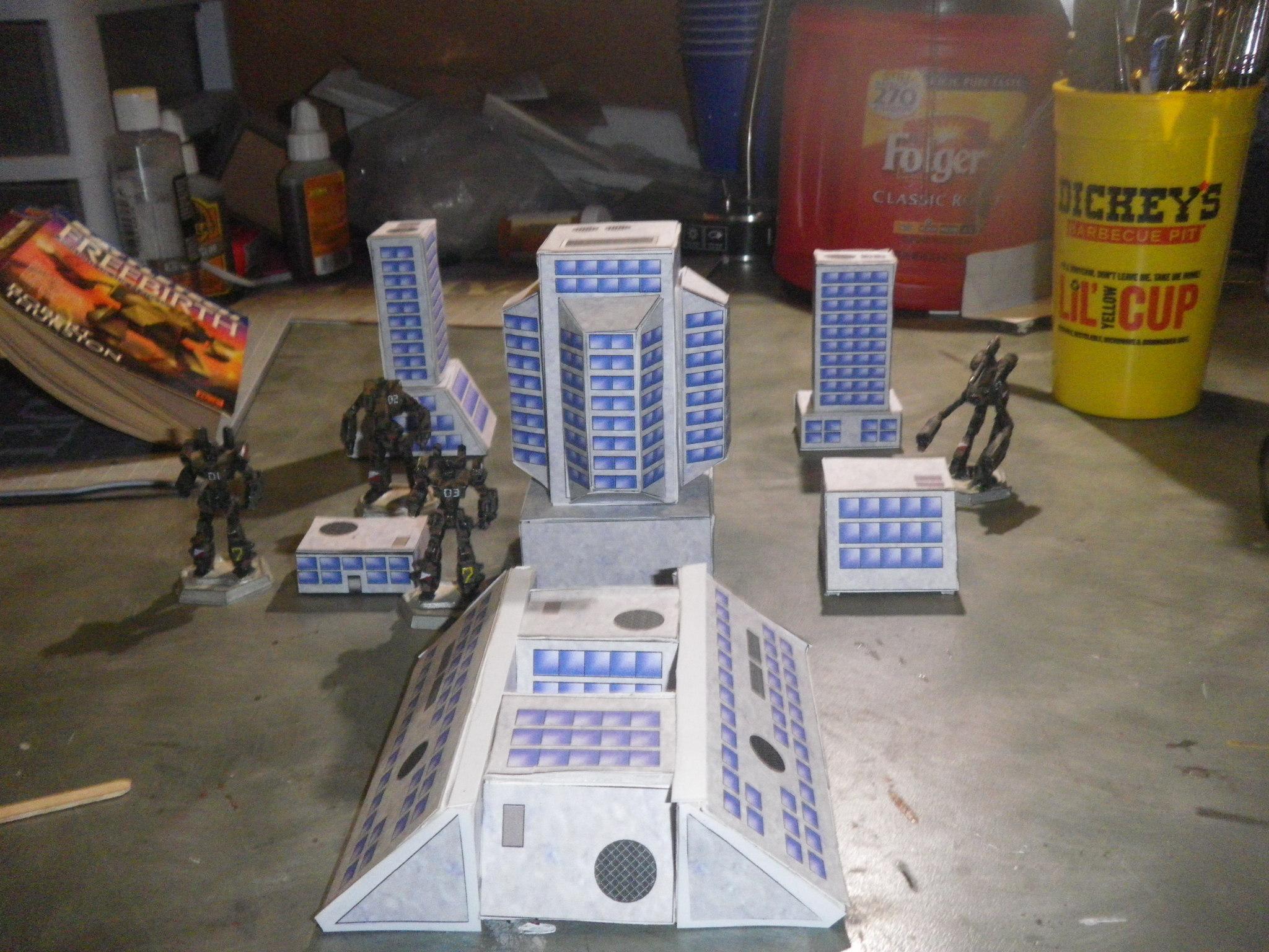 6mm, Battletech, Robotech, Terrain
