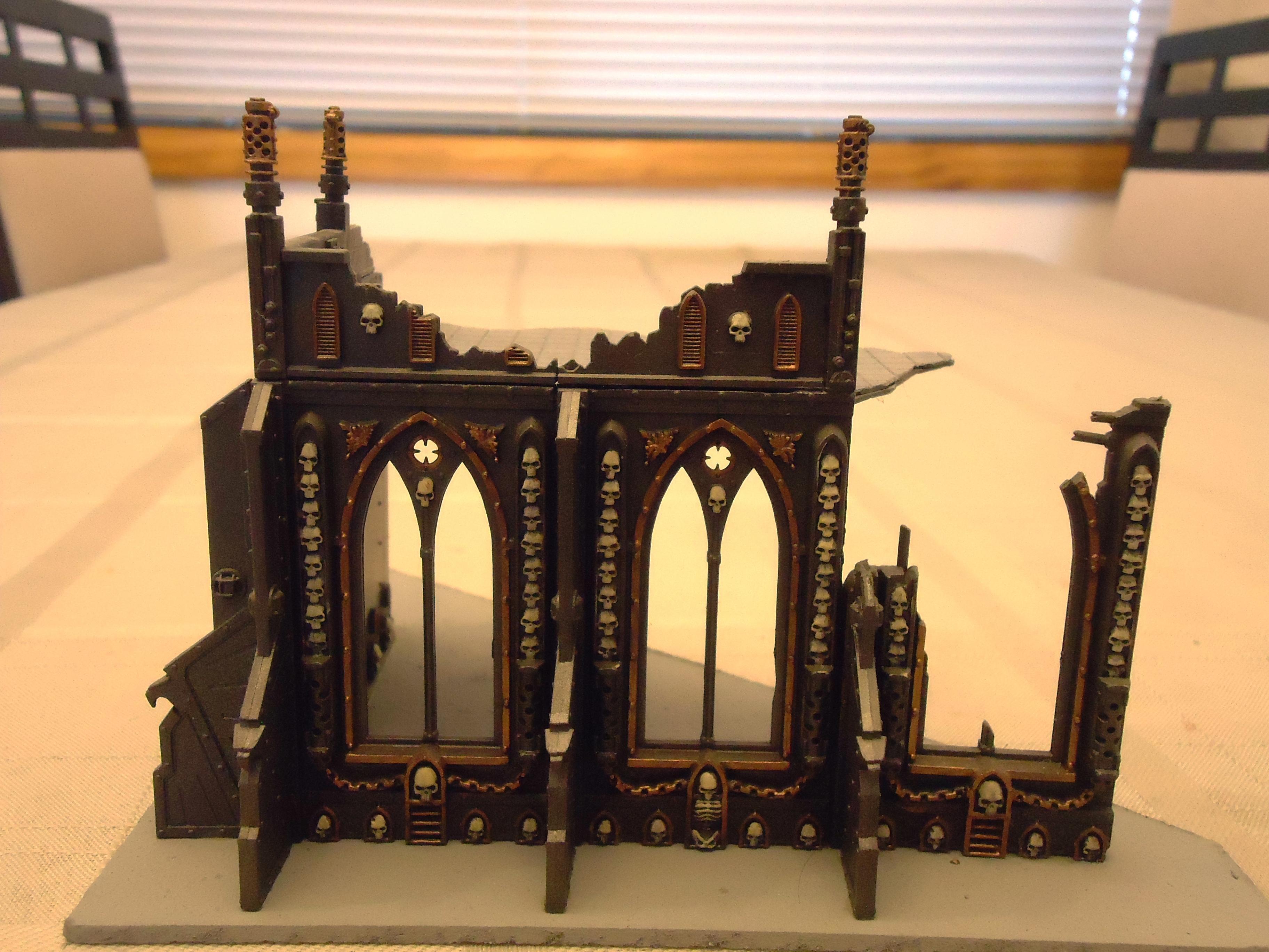 Buildings, Cities Of Death, Imperium, Skull, Terrain, Warhammer 40,000