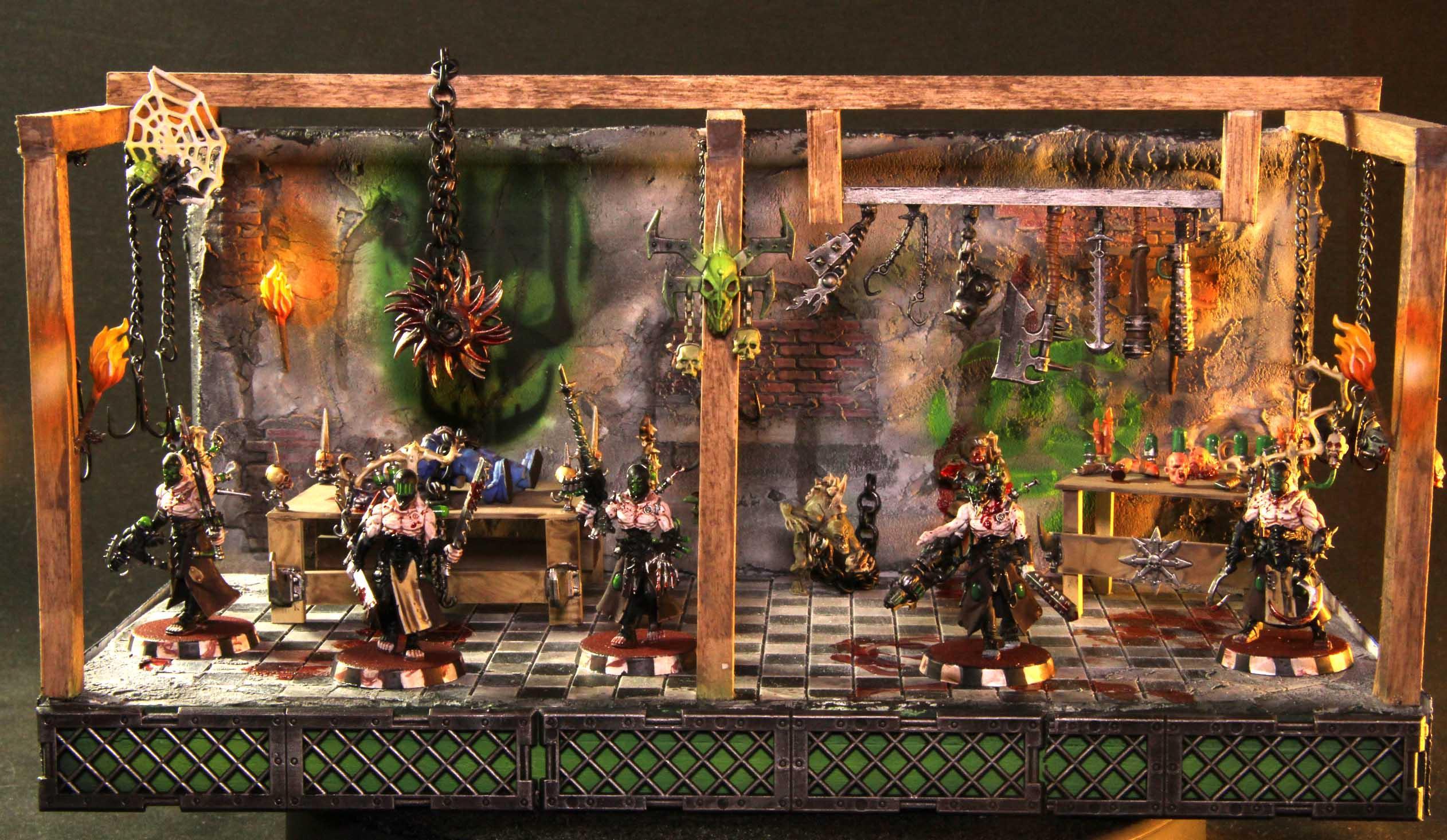 Dark Eldar, Diorama, Warhammer Fantasy, Wracks