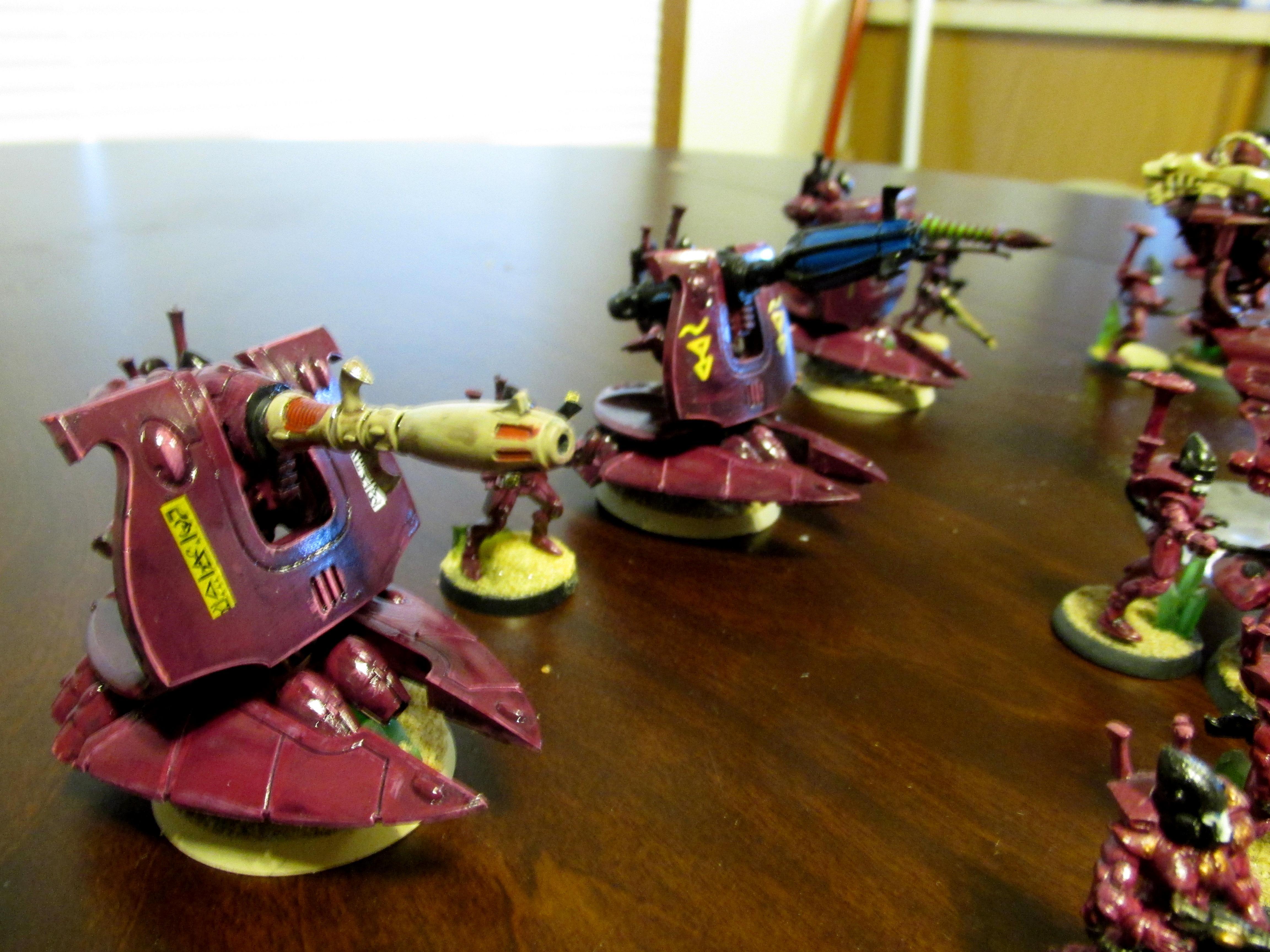Altansar, Craftworld, Eldar, Vauls Wrath Support Batteries