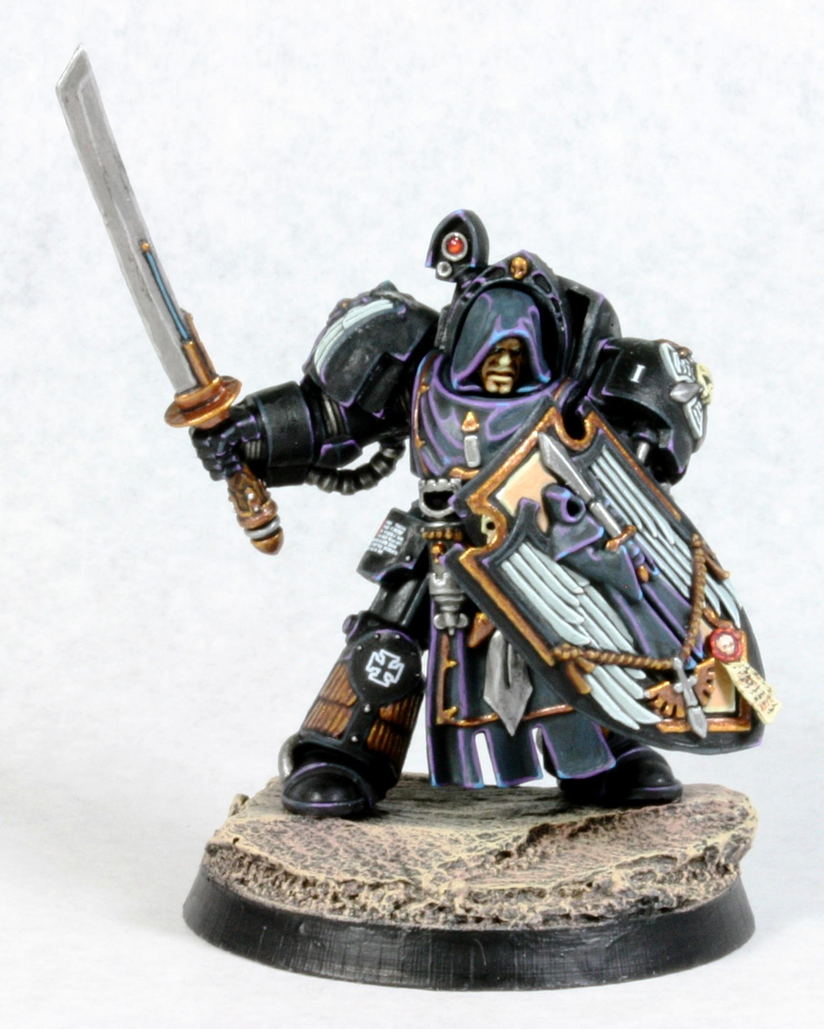 Dark Angels, Katana, Samurai, Space Marines, Terminator Armor