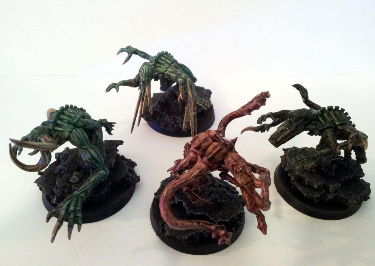 Genestealer Cult - Chaos Spawn Conversions