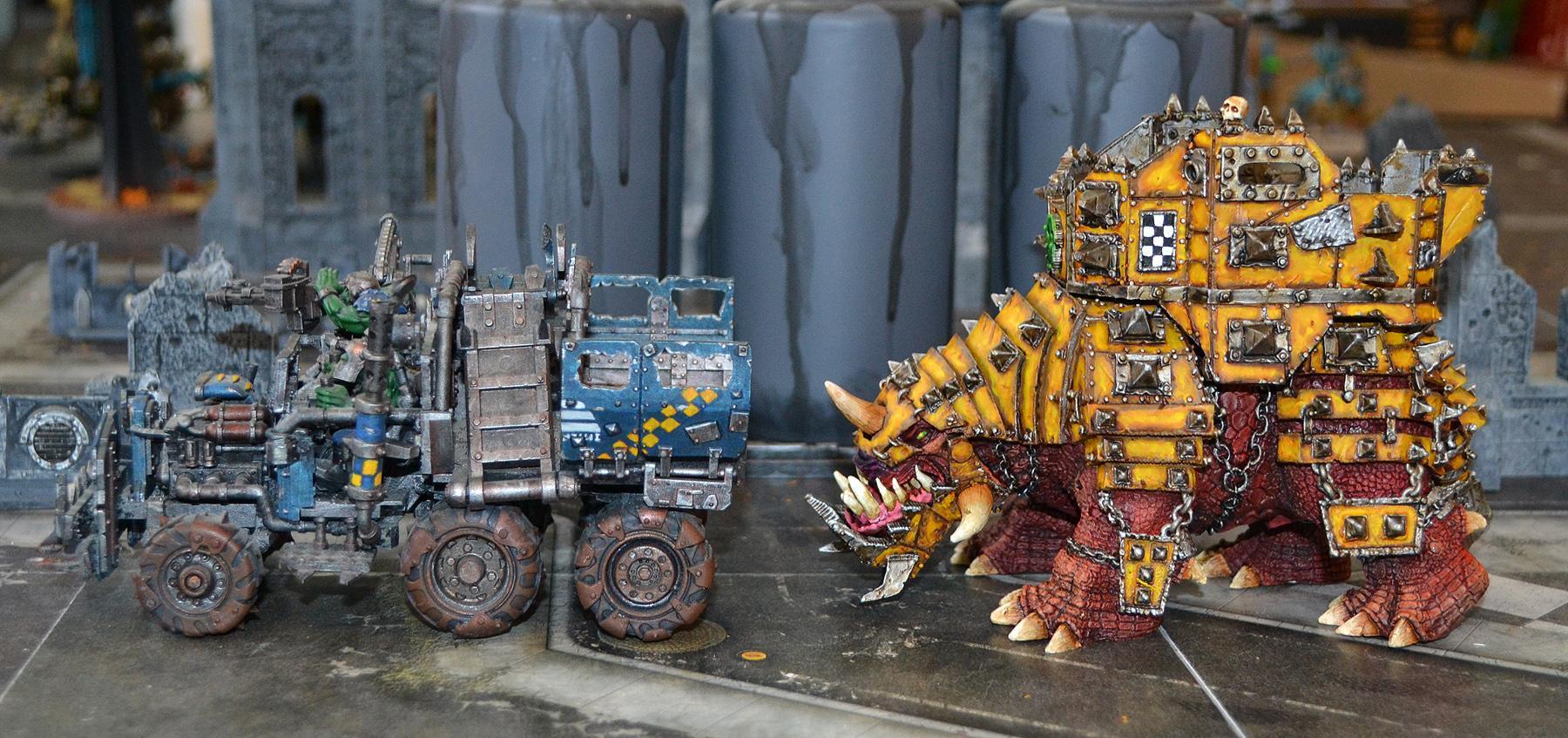 Bad Moons, Big Squiggoth, Forge World, Orks, Warhammer 40,000