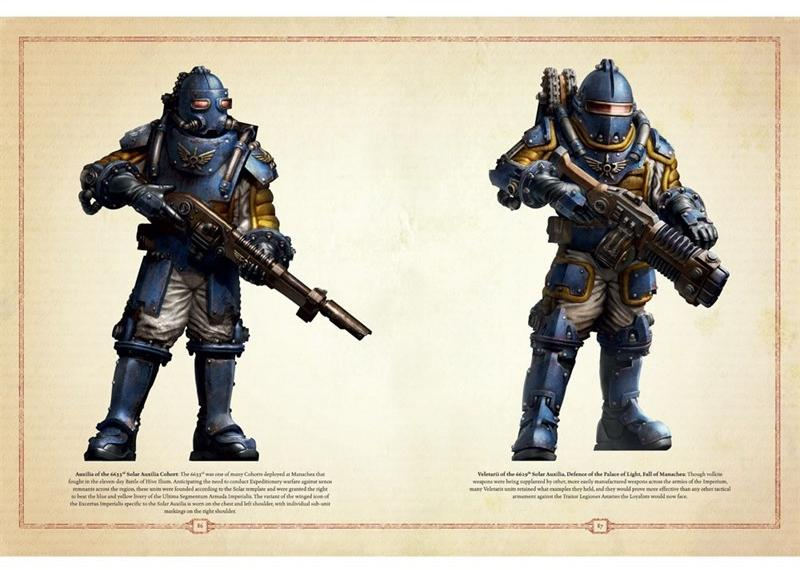 Forge World, Horus Heresy, Imperial Guard, Solar Auxilia, Steampunk