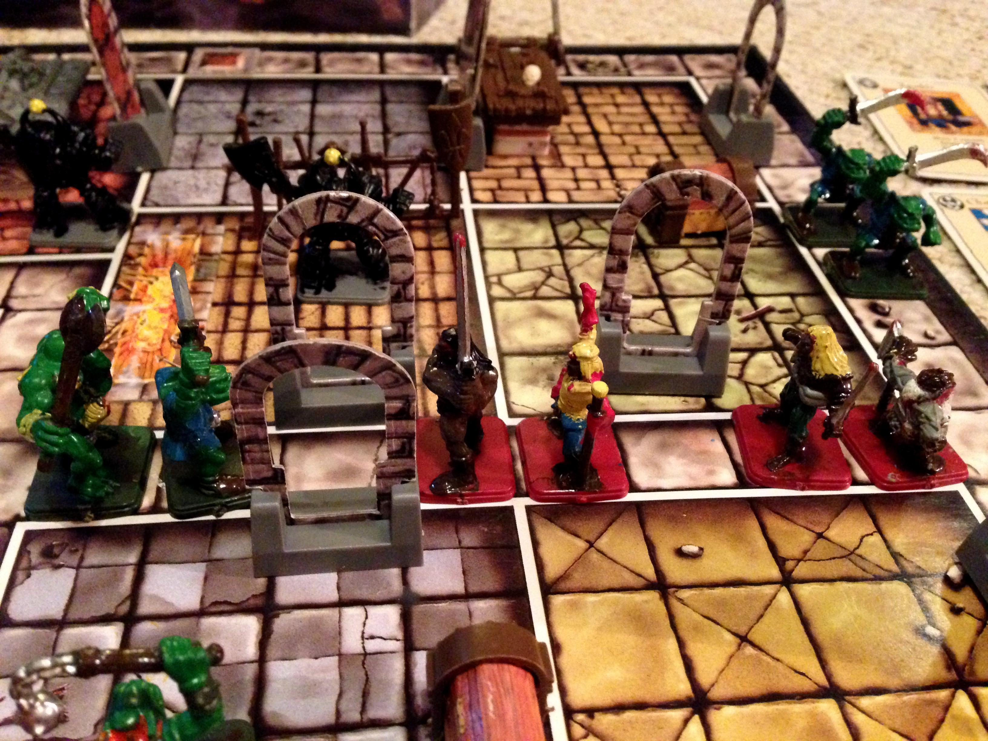Barbarian, Chaos, Dwarves, Elves, Game, Games Workshop, Gargoyle, Heroquest, Kellar, Keller, Mummy, Ogres, Quest, Skeletons, Tabletop, Warhammer Fantasy, Witch Lord, Wizard, Zombie