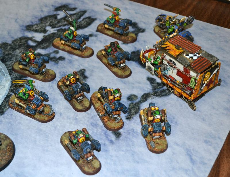 Bad Moons, Orks, Warbikers, Warhammer 40,000