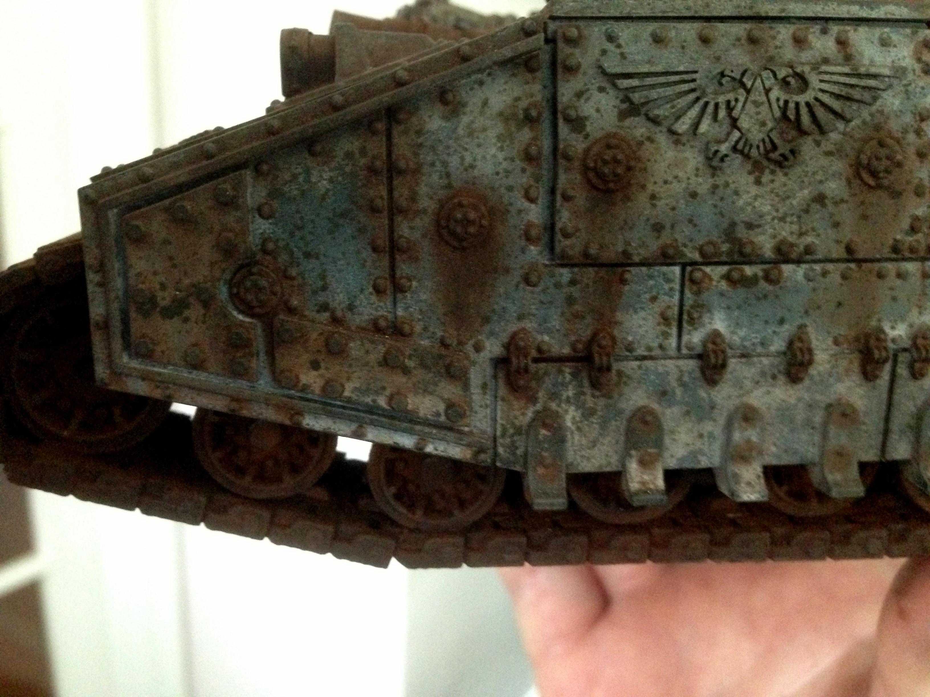 Astra Militarum, Baneblade, Corrosion, Imperial Guard, Rust, Super-heavy