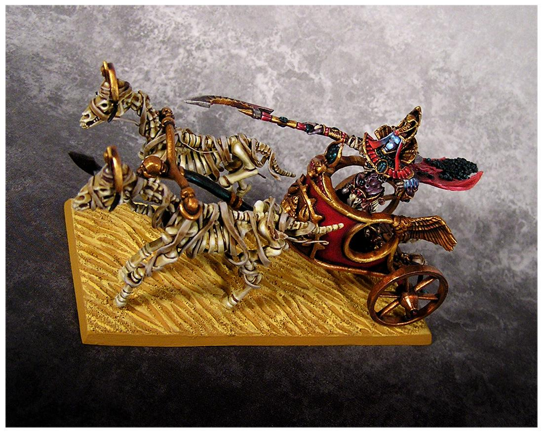 Chariot, Conversion, King, Rothand, Tk, Tomb, Tomb Kings, Warhammer Fantasy