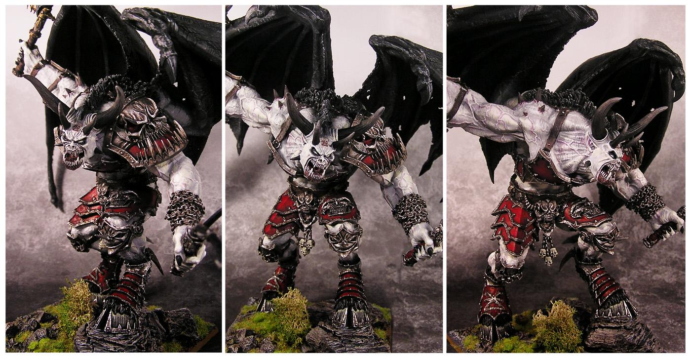 Bloodthirster, Daemons, Mc, Monster, Monsterous