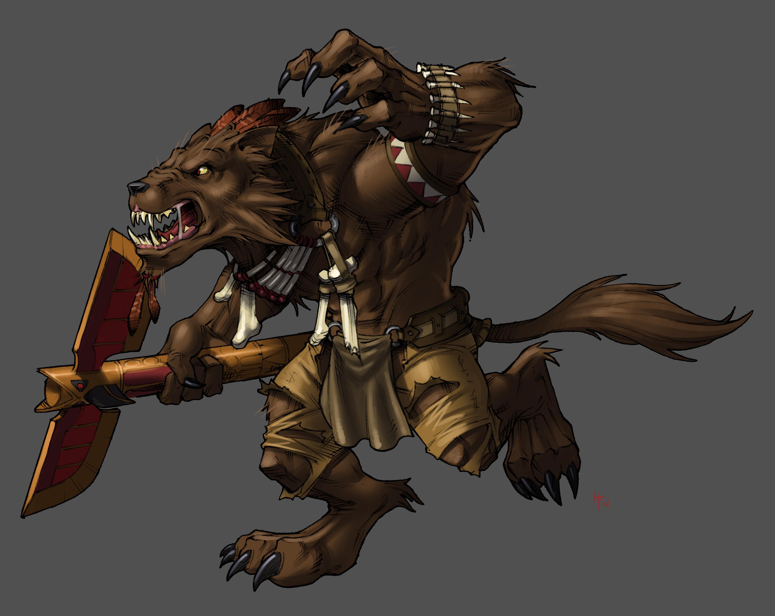 Alpha Skinwalker Wolf