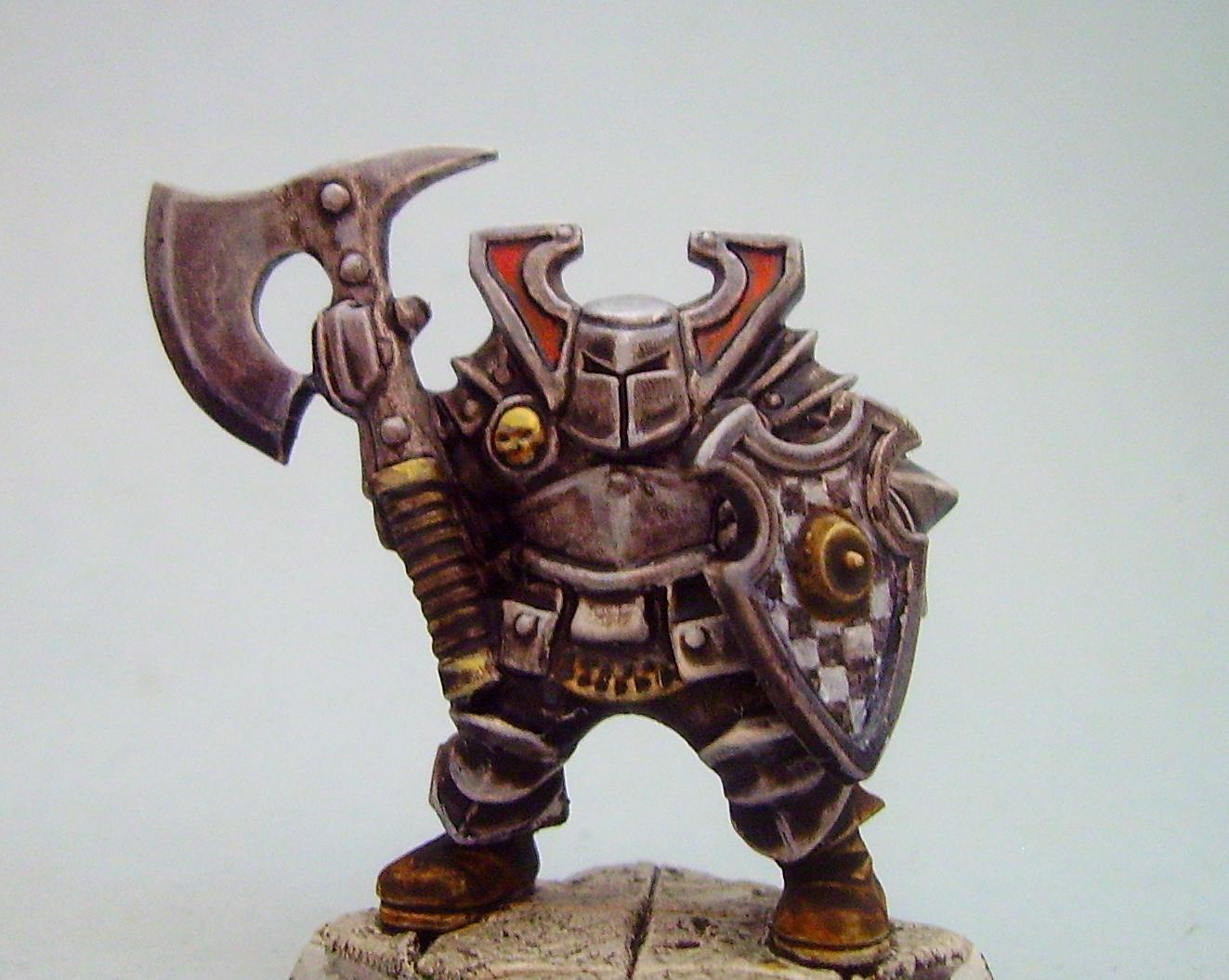 Chaos Warrior, Out Of Production, Plastic