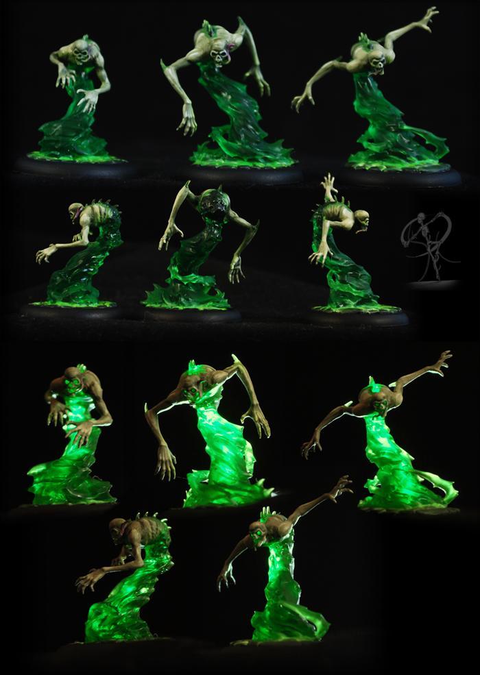 Malifaux, Neverborn, Transparent, Wyrd