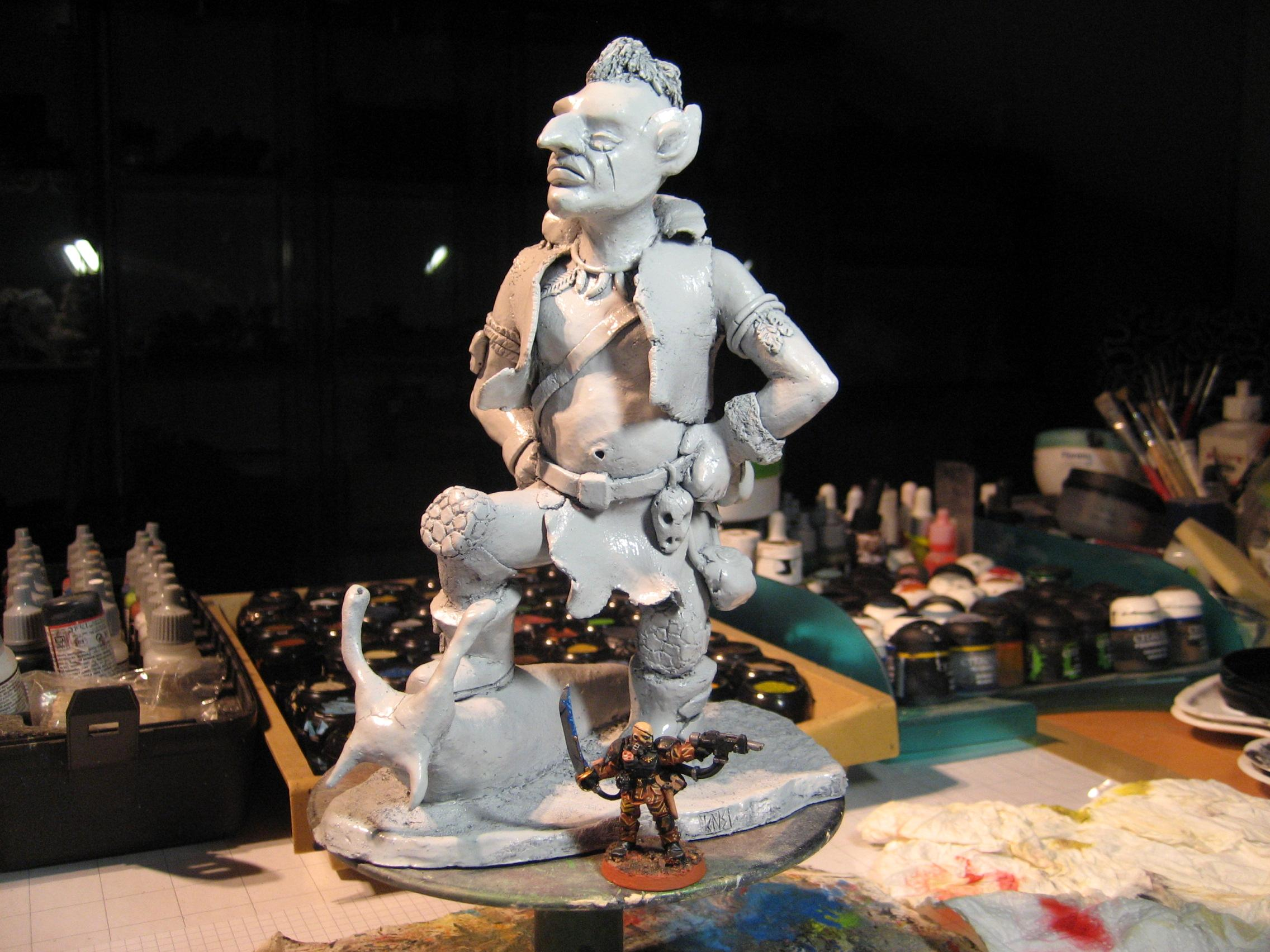 Klaus Not Santa, Orks, Sculpting, Titan
