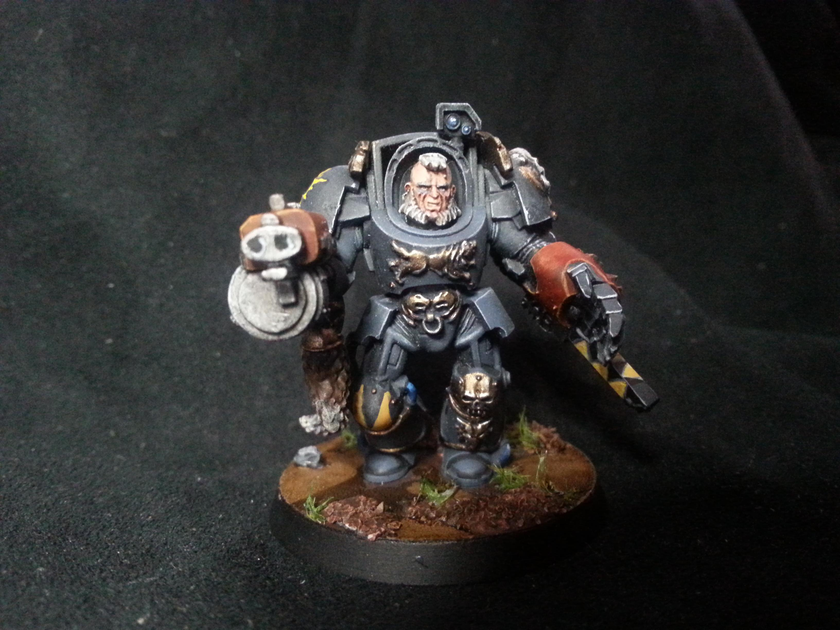 Chainfist, Space Wolves, Wolf Guard