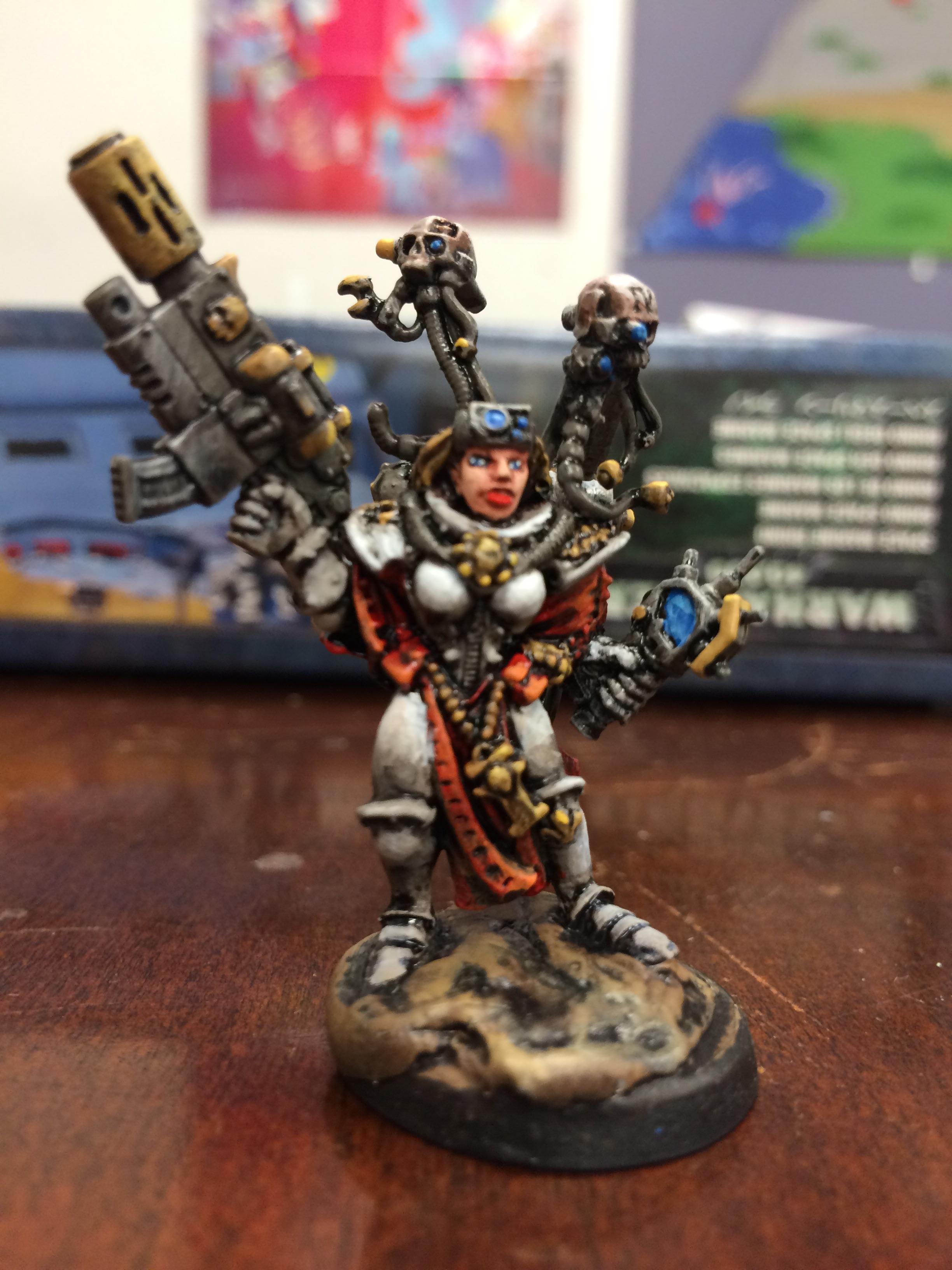 Cyborg, Sisters Of Battle, Tech Marine, Tech Priest