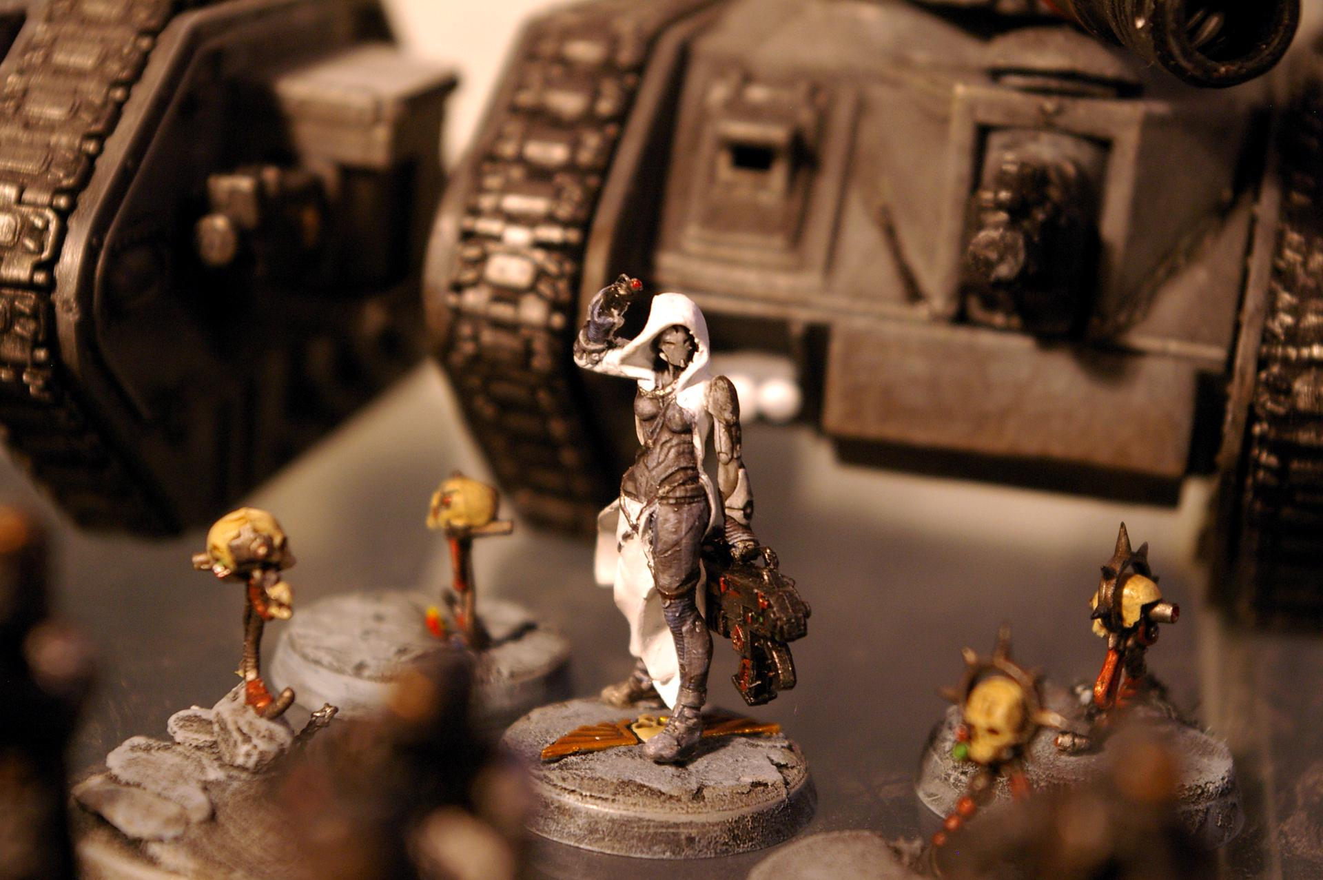 Female, Hood, Infinity, Inquisitor, Robe
