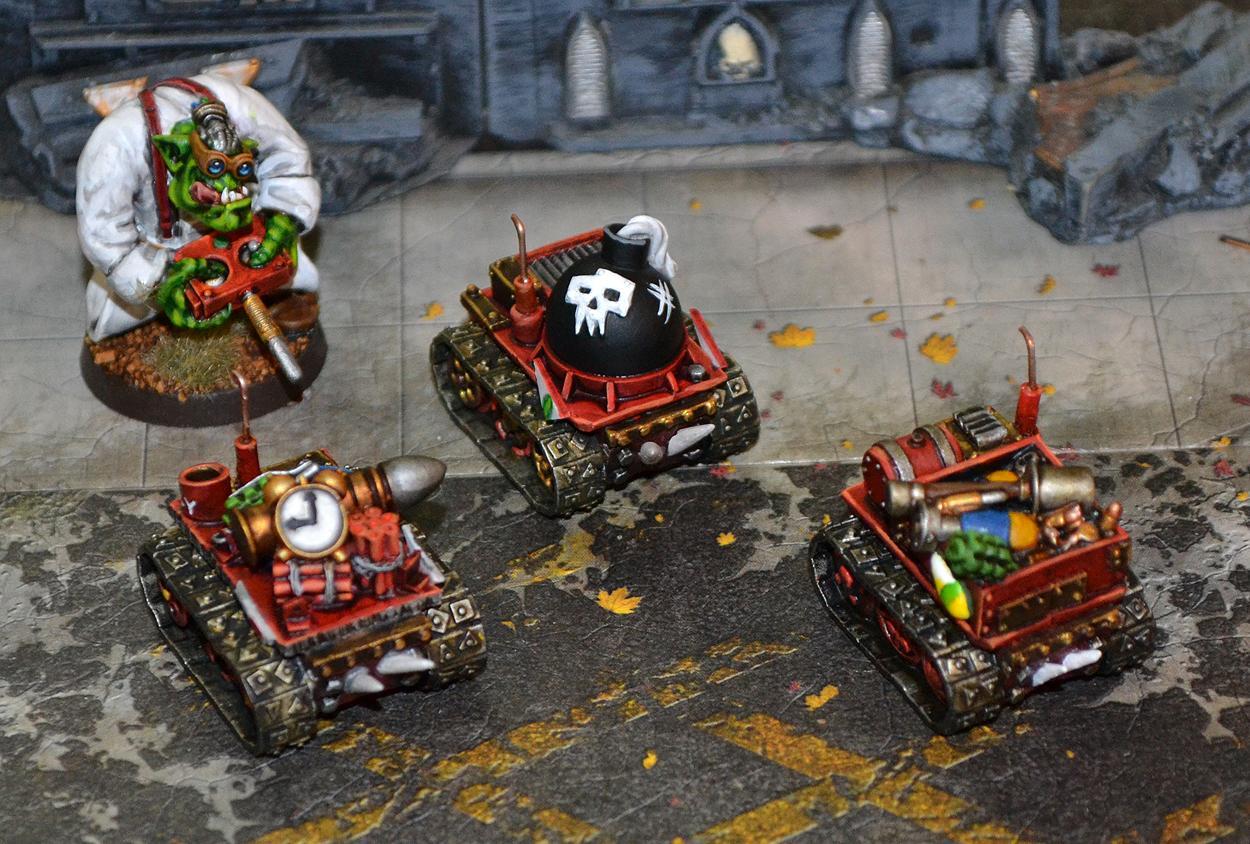 Bomb Squigs, Kromlech, Orks, Warhammer 40,000