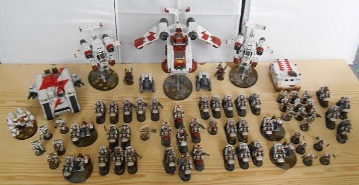 Army, Bike, Finished, Freehand, Land Raider, Space Marines, Sternguard, Stormraven, Stormtalon, Weathered, White, White Scars