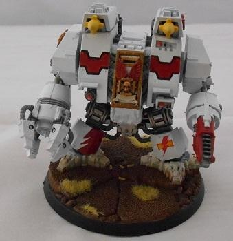Army, Dreadnought, Finished, Ironclad, Showcase, Space Marines, White Scars