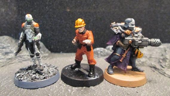 Crooked Dice Minion compared to GW and Infinity