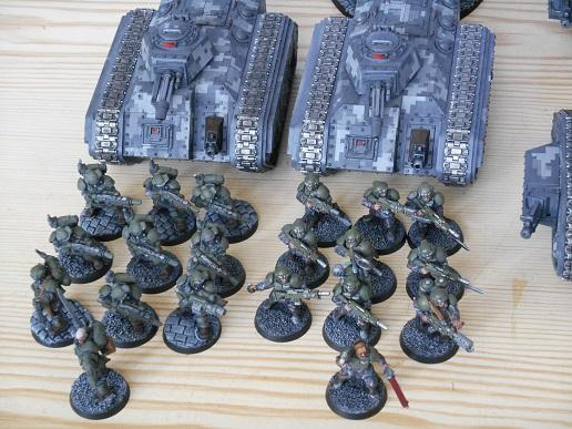 Armored Company, Army, Astra Militarum, Digital Camo, Finished, Fliers, Forge World, Imperial Guard, Leman Russ, Showcase, Tank, Thunderbolt, Urban