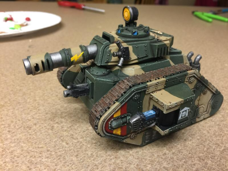 Imperial Guard, Leman Russ