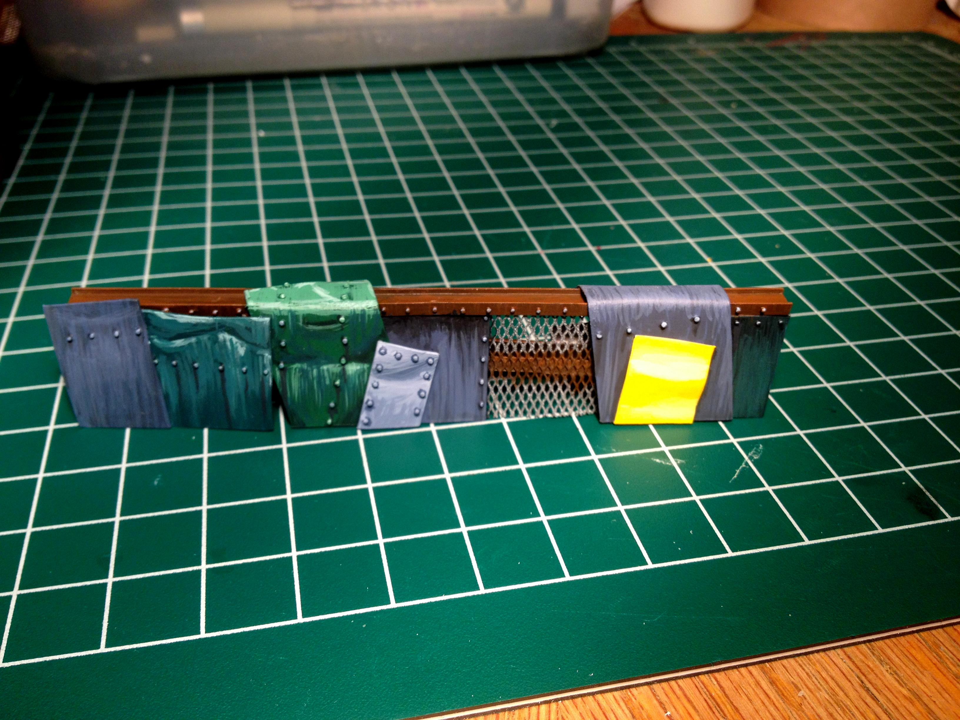 Awesome!, Barricade, Linear Obstacle, Necromunda, Rivets!, Scratch Build, Terrain