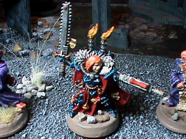 Sisters Of Battle, Cannoness of Ordor of the Valorous Heart