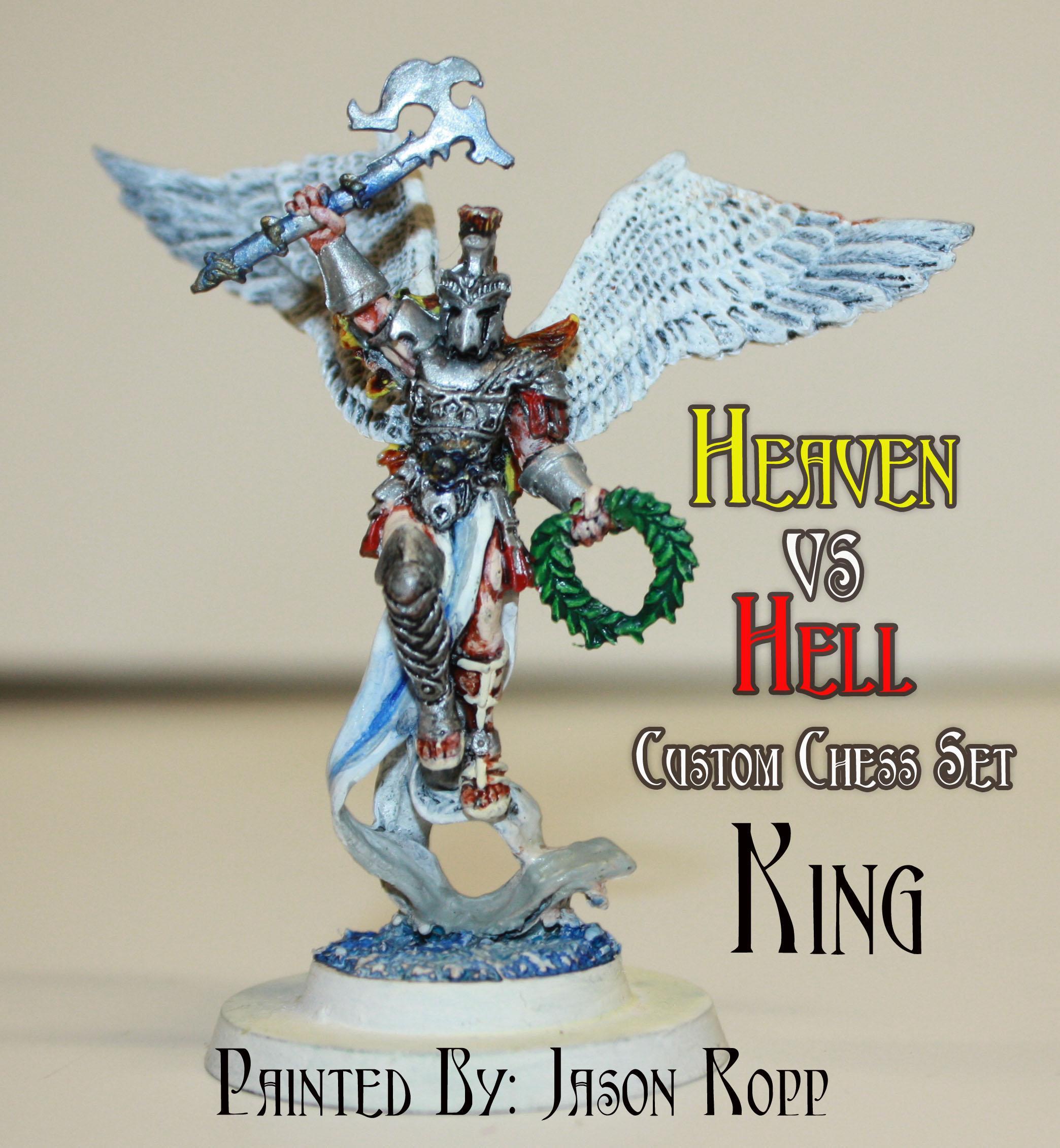 Angel, Bishop, Castle, Chess, Custom, Daemons, Devils, Dragon, Dugeons And Dragons, Dungeons And Dragons, Heavan, Hell, King, Knights, Nightmare Chess, Pawn, Queen, Rook, Set, Succubus, Vs, Warhammer Fantasy