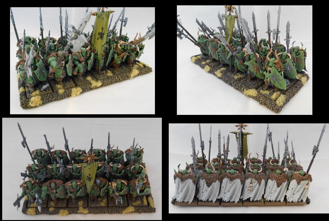 Chaos, Halberds, Nurgle, Warriors