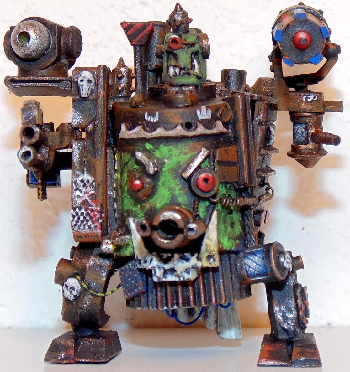 Army, Conversion, Epic, Gargant, Green, Mob, Nob, Orks, Scratch, Scratch Build, Stampfa, Stompa, Superstompa, Waaagh, Warhammer 40,000